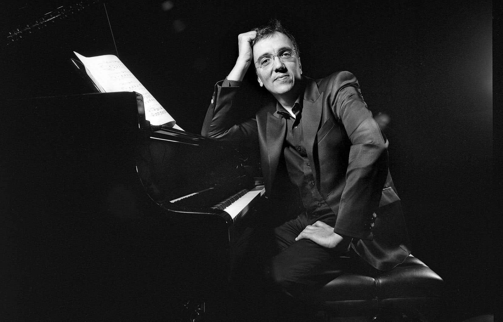 Le pianiste Éric Le Sage