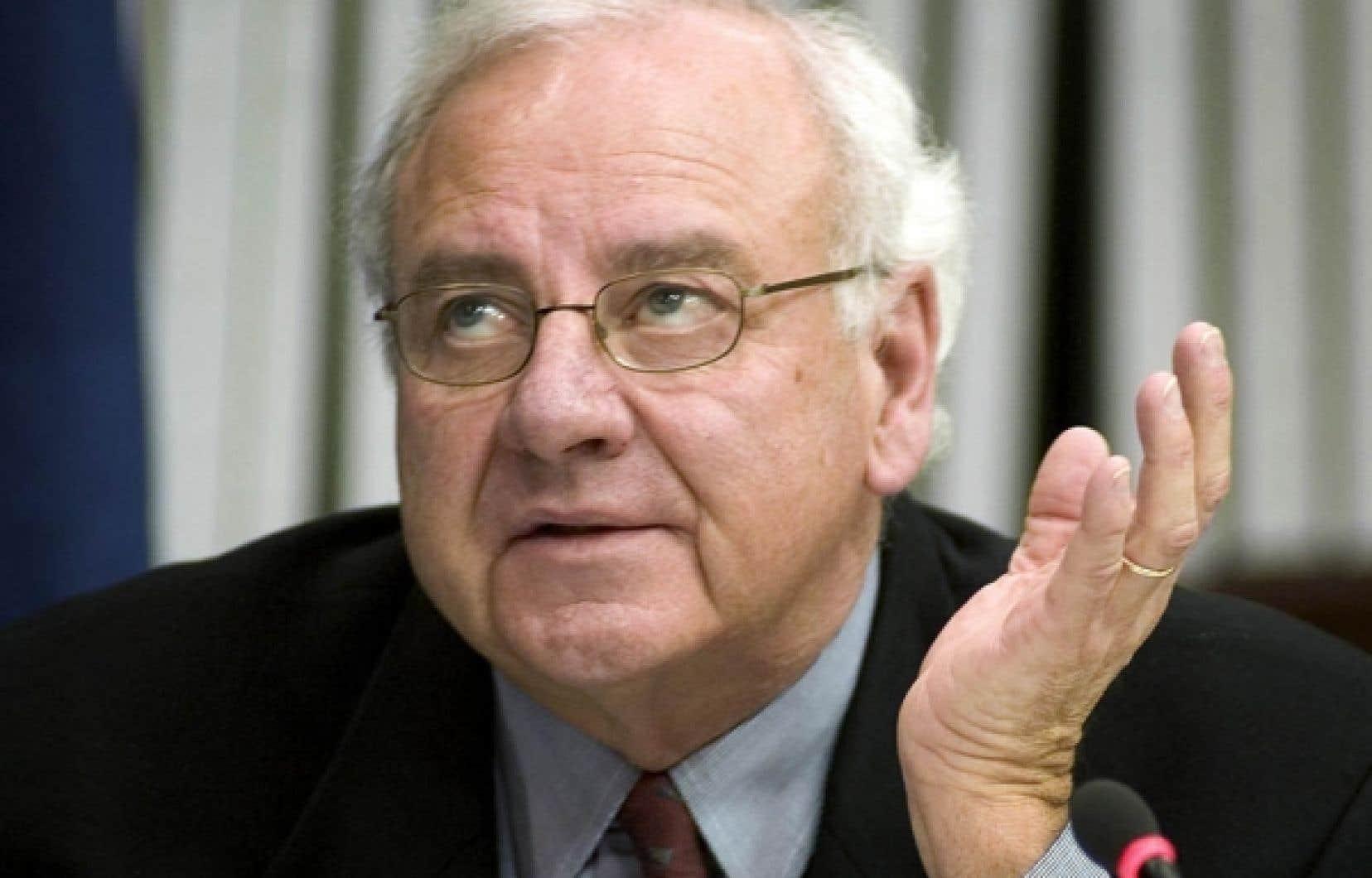 Un des principaux acteurs du scandale des commandites, Jean Lafleur, président de l'agence Lafleur communications