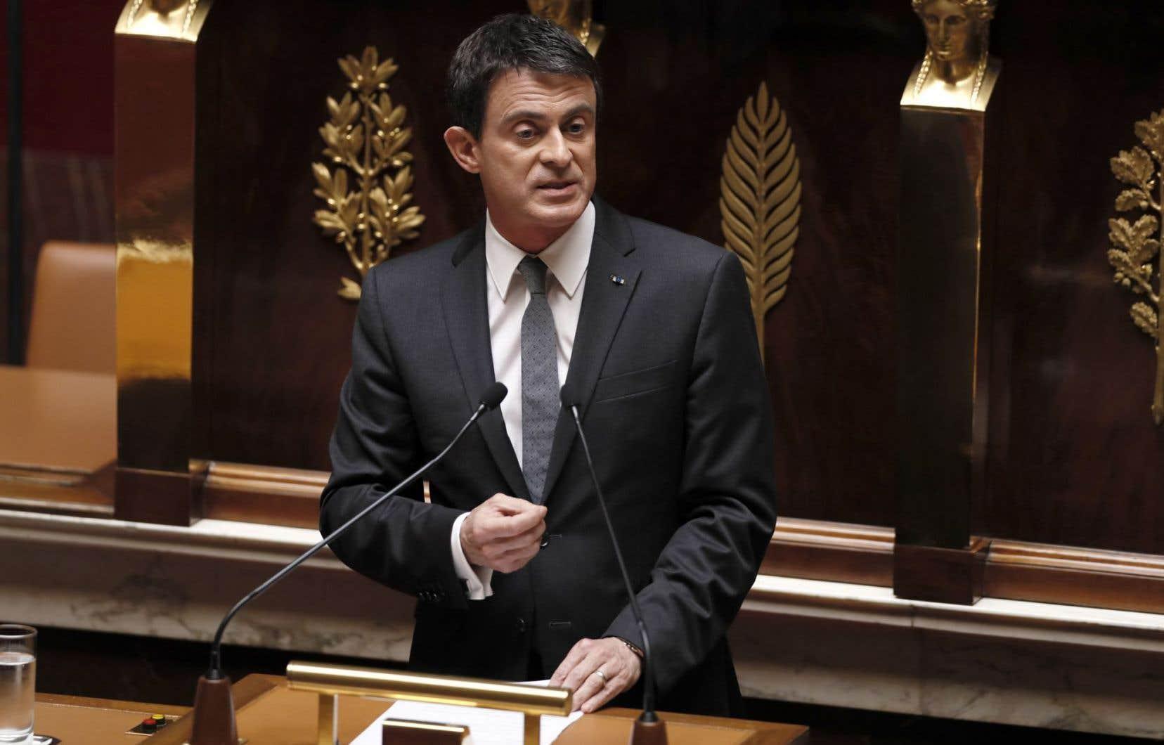 Le premier ministre français, Manuel Valls