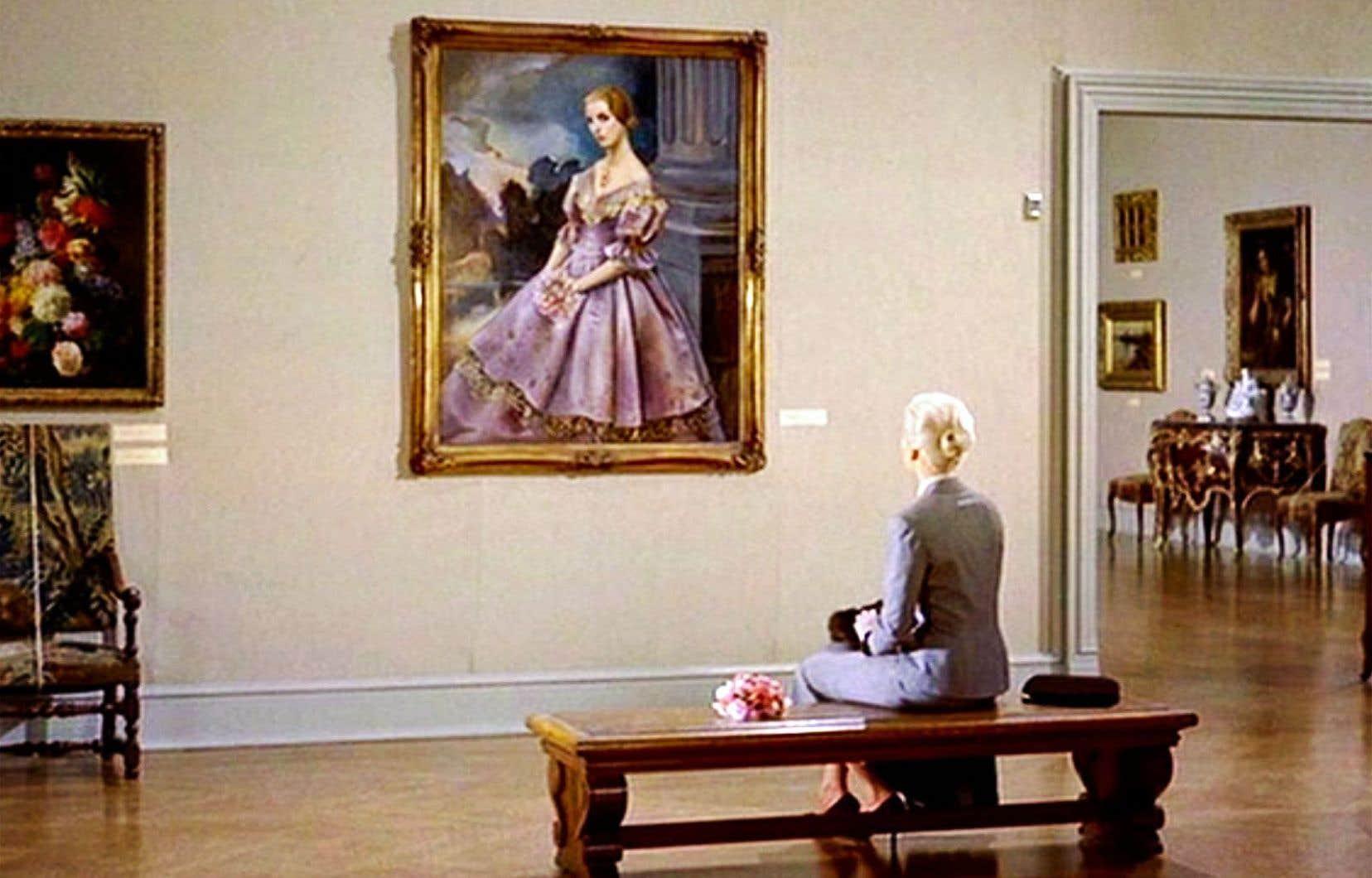 Kim Novak dans une scène iconique de «Vertigo»