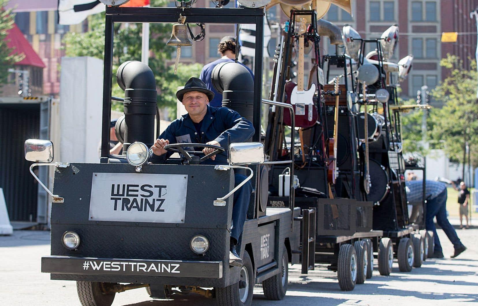 Pour Erik West Millette, le projet «West Trainz» est le voyage d'une vie.