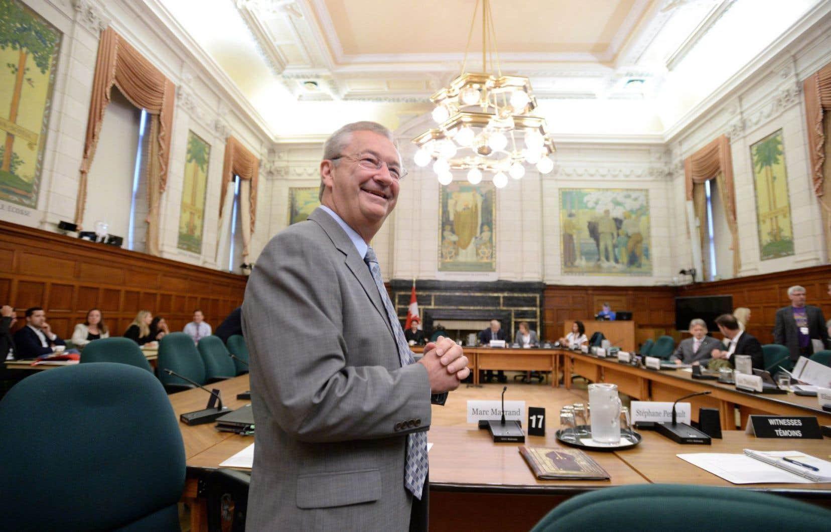 Le patron d'Élections Canada, Marc Mayrand, a comparu jeudi matin devant le comité parlementaire étudiant la réforme du mode de scrutin.