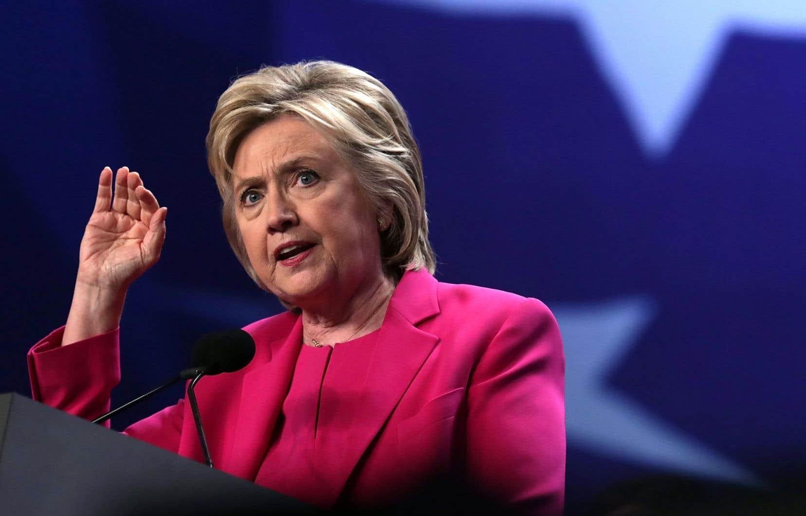 Hillary Clinton a été la cible de nombreuses attaques dans la foulée des conclusions du FBI.