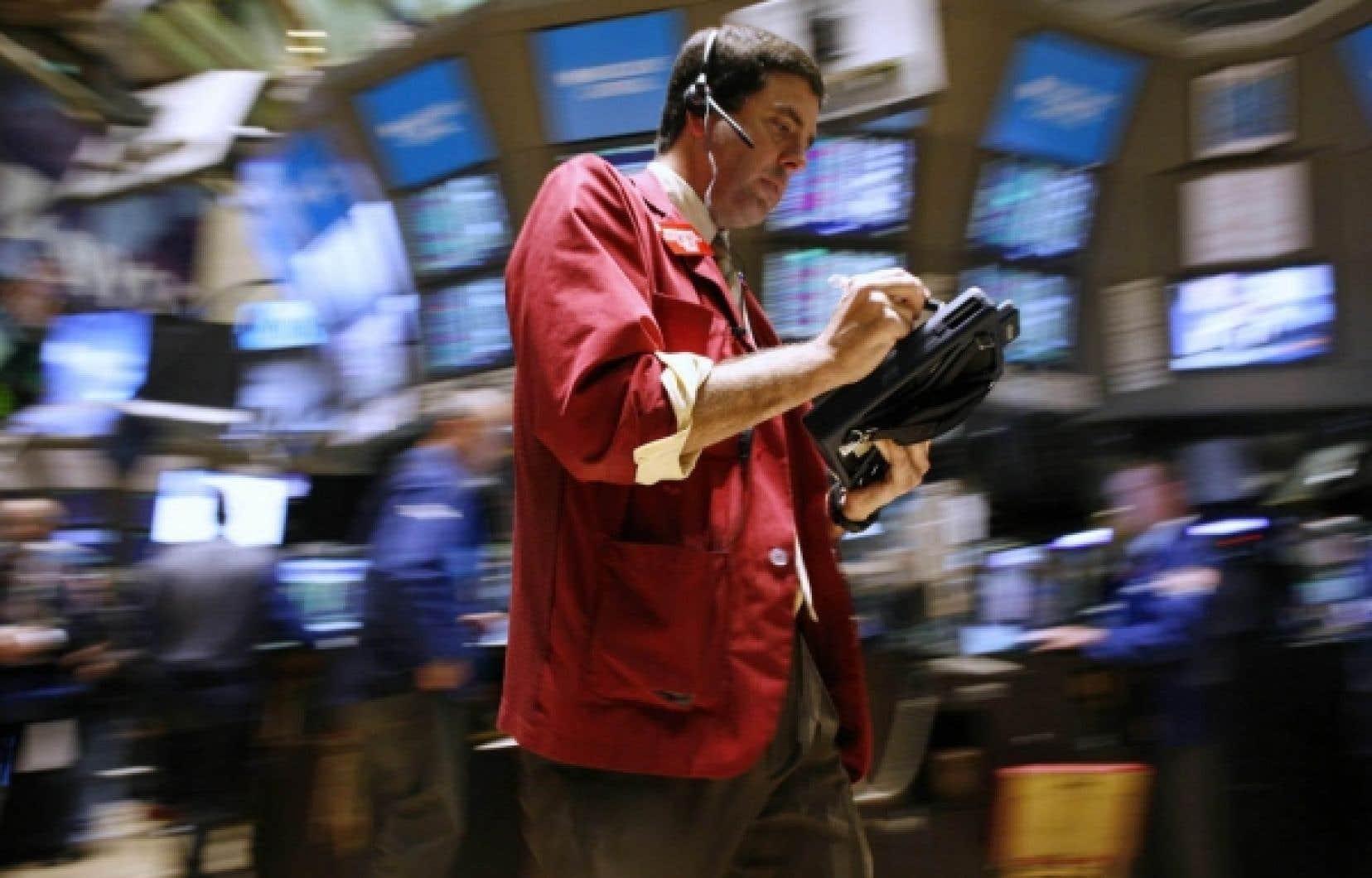 La Bourse de Toronto a terminé l'année 2009 sur un gain de 41 %. Du côté américain, où Wall Street vient de signer sa première décennie négative de l'histoire (-23 %), le S&P500, baromètre parmi les baromètres, a progressé de 28 %.
