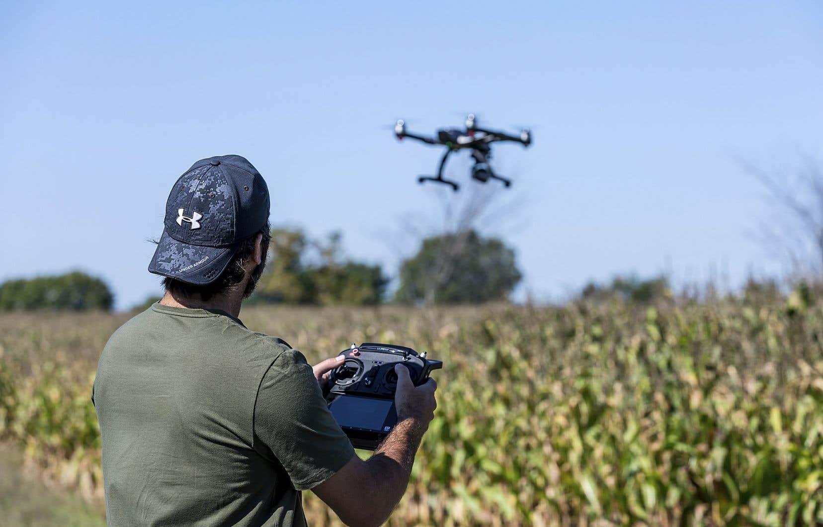 Un utilisateur de drones à Laval