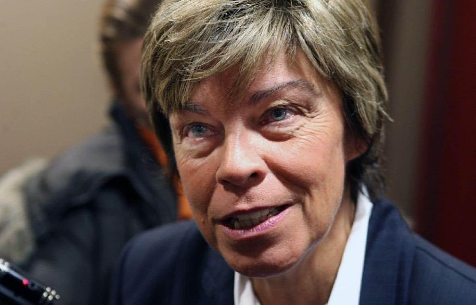 L'ex-ministre des Relations internationales, Louise Beaudoin