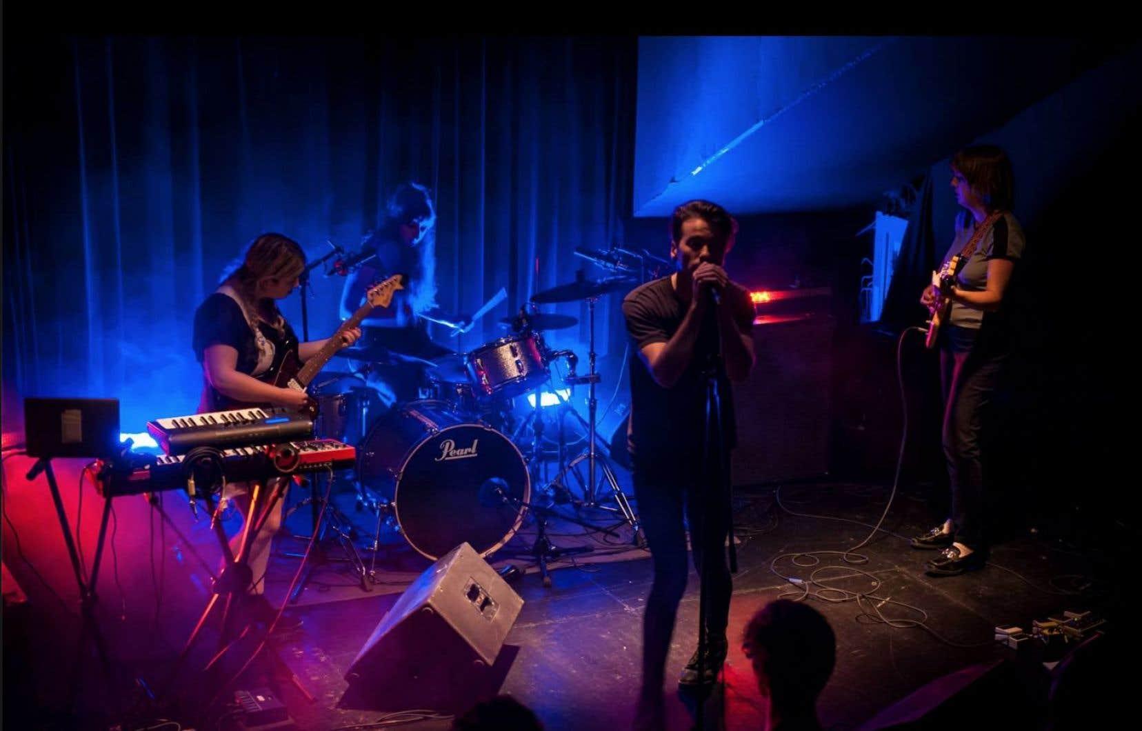 Le groupe TR/ST en concert au Cercle le 7 juillet dernier