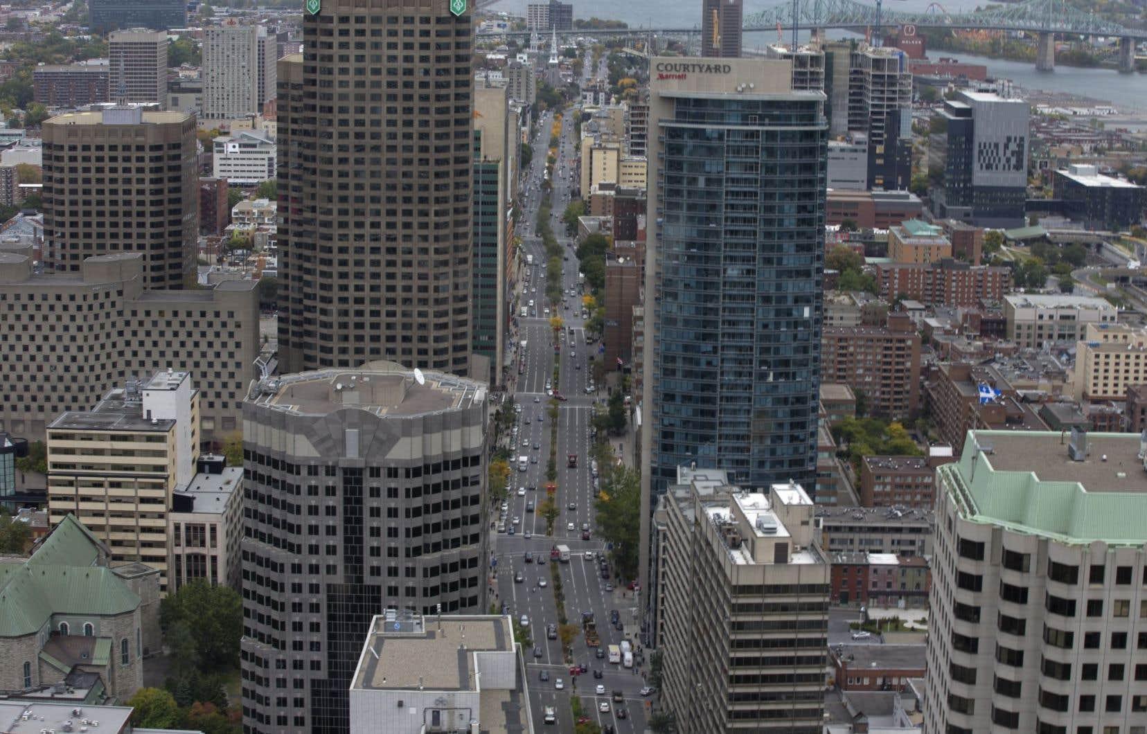 Montréal occupe le quatrième rang d'un classement sur la compétitivité fiscale de 51 grandes villes.