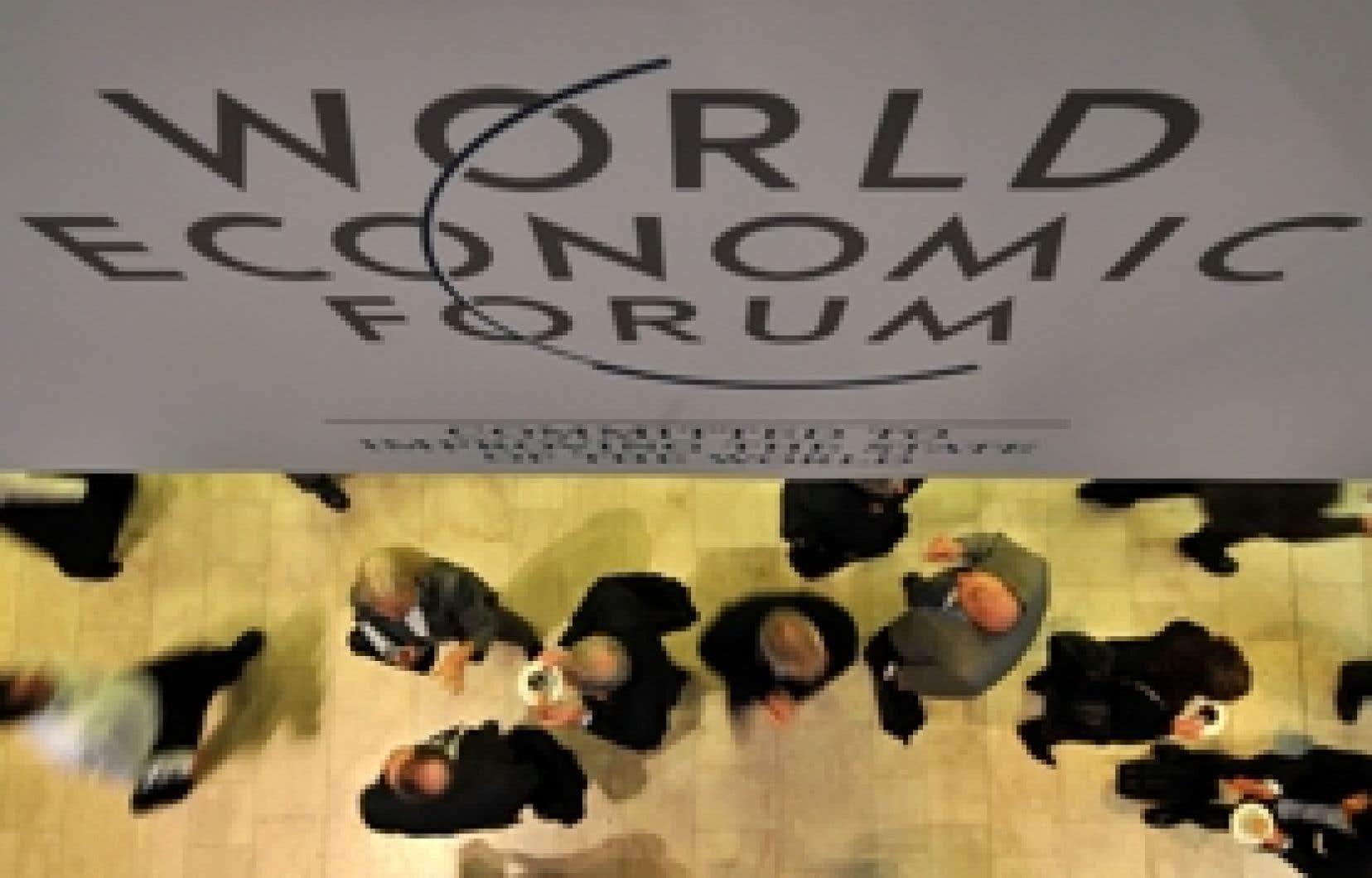 Plus de 2500 personnes prendront part au Forum économique mondial, à Davos.