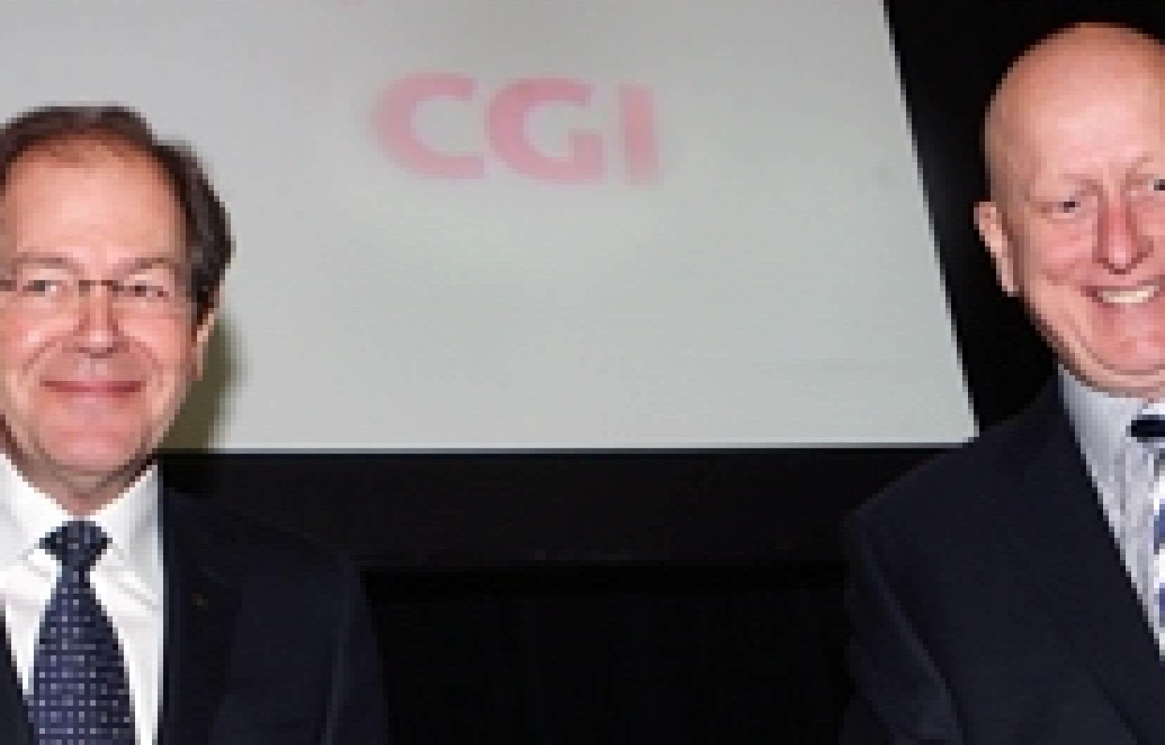 Lors de l'assemblée, le fondateur et président exécutif, Serge Godin, ainsi que Michael Roach, président et chef de la direction, en ont profité pour dévoiler les résultats financiers du premier trimestre.