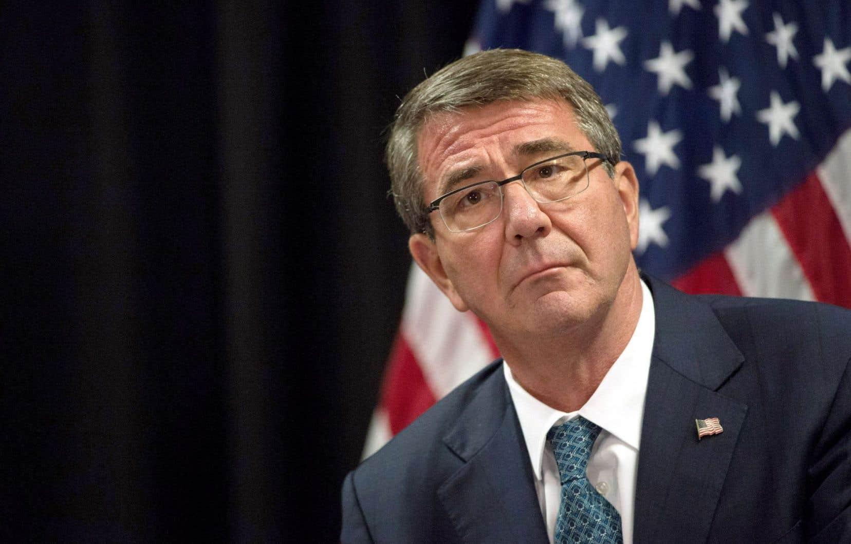 Le secrétaire américain à la Défense, Ashton Carter