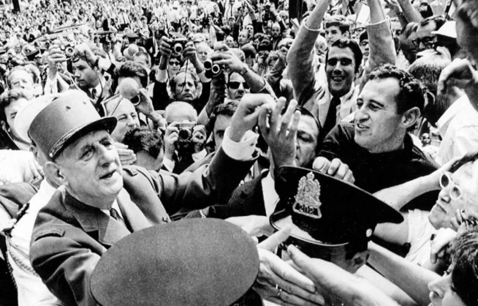 Pour Jean-Marc Léger, c'est la visite du général de Gaulle en 1967 qui a tout déclenché. D'ailleurs, celle-ci provoquera son départ du Devoir.