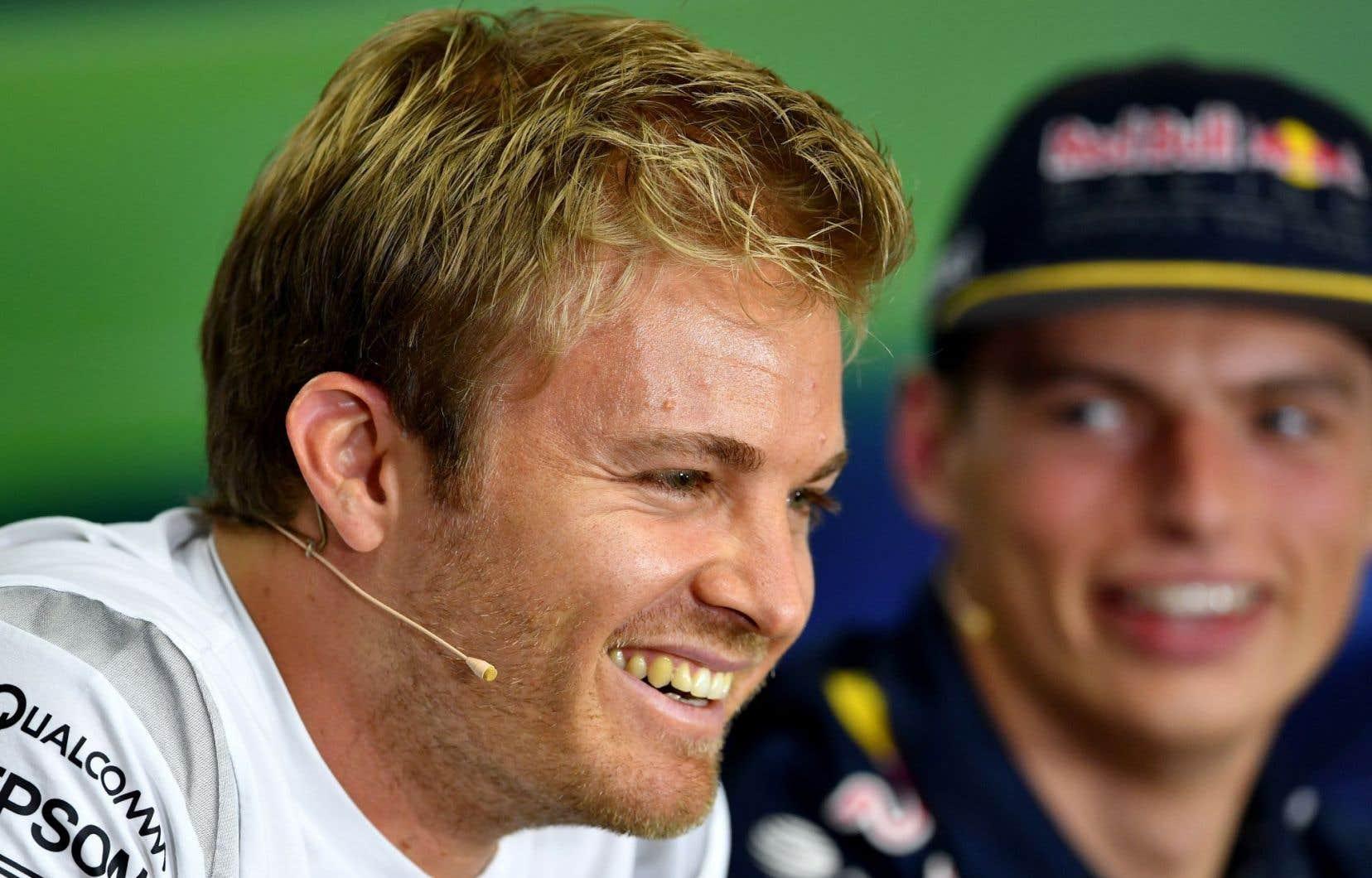 Le pilote de l'écurie Mercedes Nico Rosberg