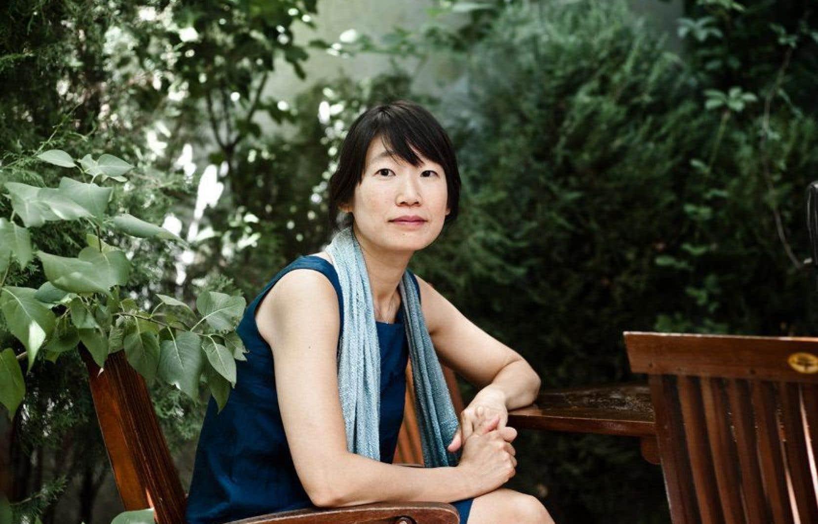 L'écrivaine canadienne Madeleine Thien est finaliste pour son roman<em>Do Not Say We Have Nothing</em>.