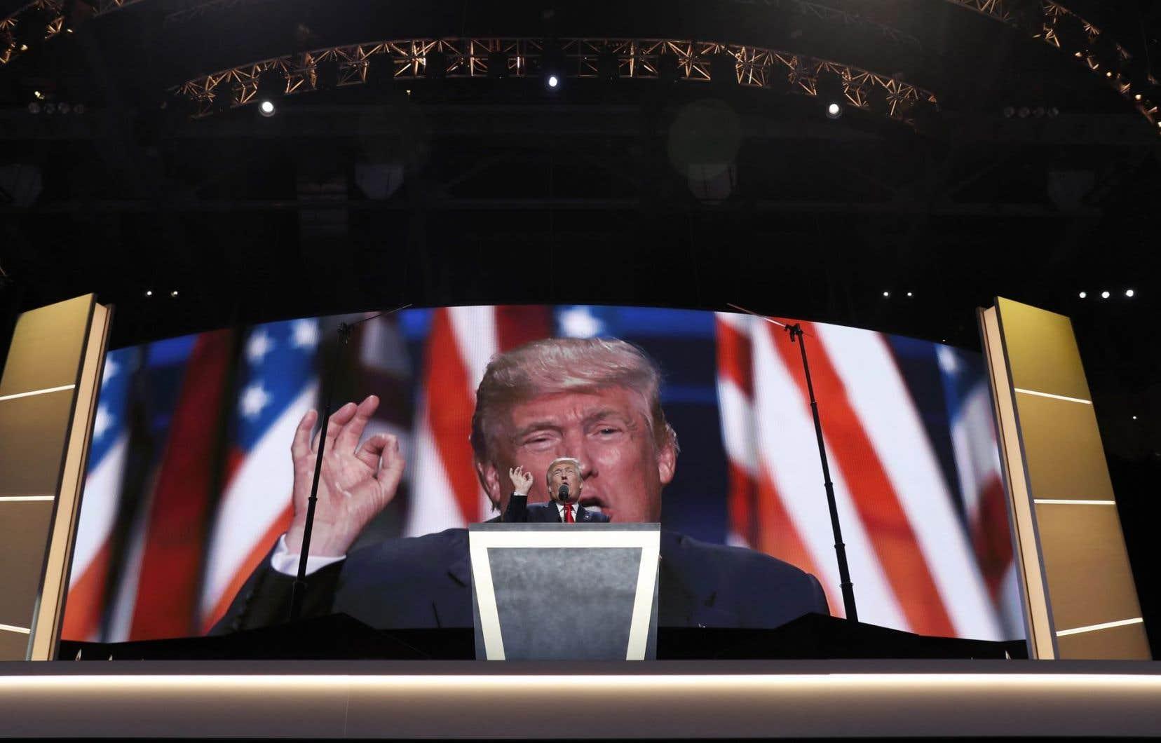 Après son discours de la semaine dernière, Donald Trump a fait un bond important dans les sondages.