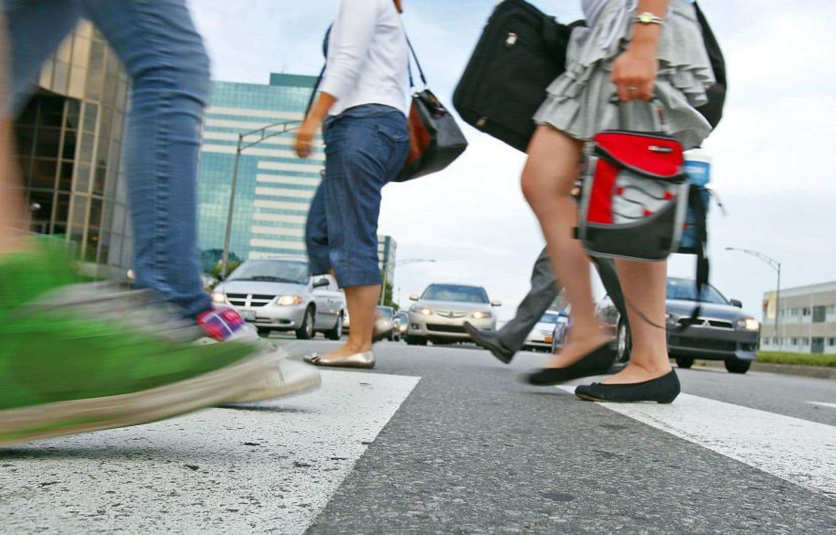 La marche, bon antidote pour les gens qui travaillent assis de longues périodes