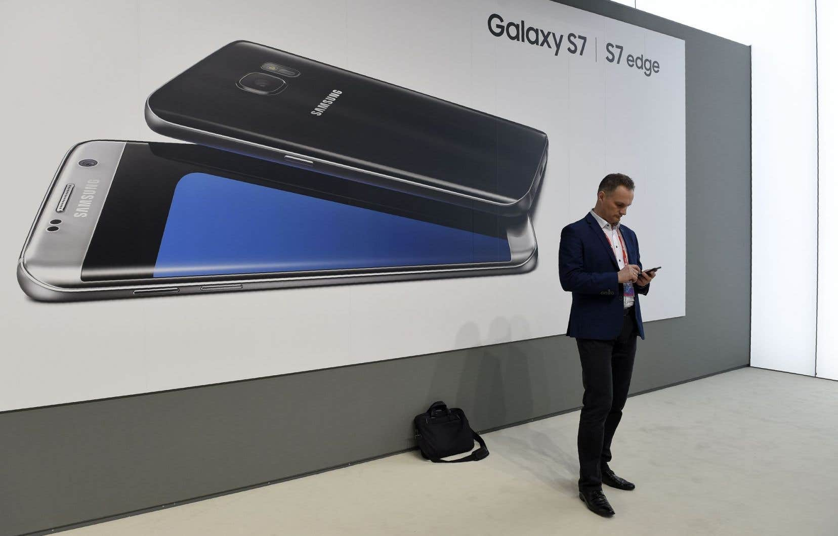 Samsung a bénéficié du lancement en mars de deux nouveaux modèles phares, les Galaxy S7 et S7 Edge.