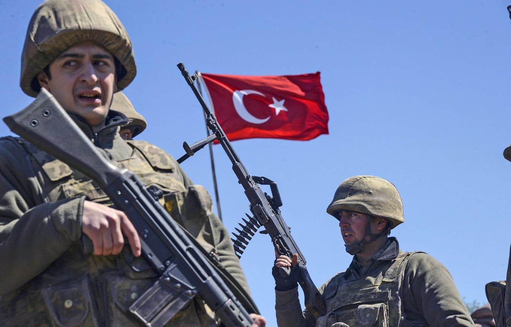 L'armée turque avait été créée sur le modèle jacobin.