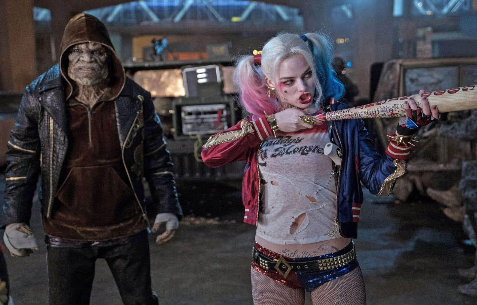 L'adaptation des bédés Suicide Squad a été mal accueillie par la critique.