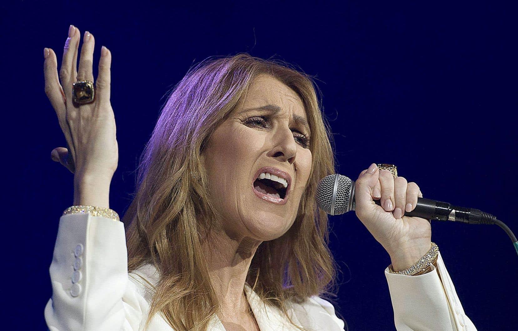 Les concerts que Céline Dion donne présentement représenteraient près du tiers de l'assistance annuelle totale aux spectacles de chanson francophone au Québec.
