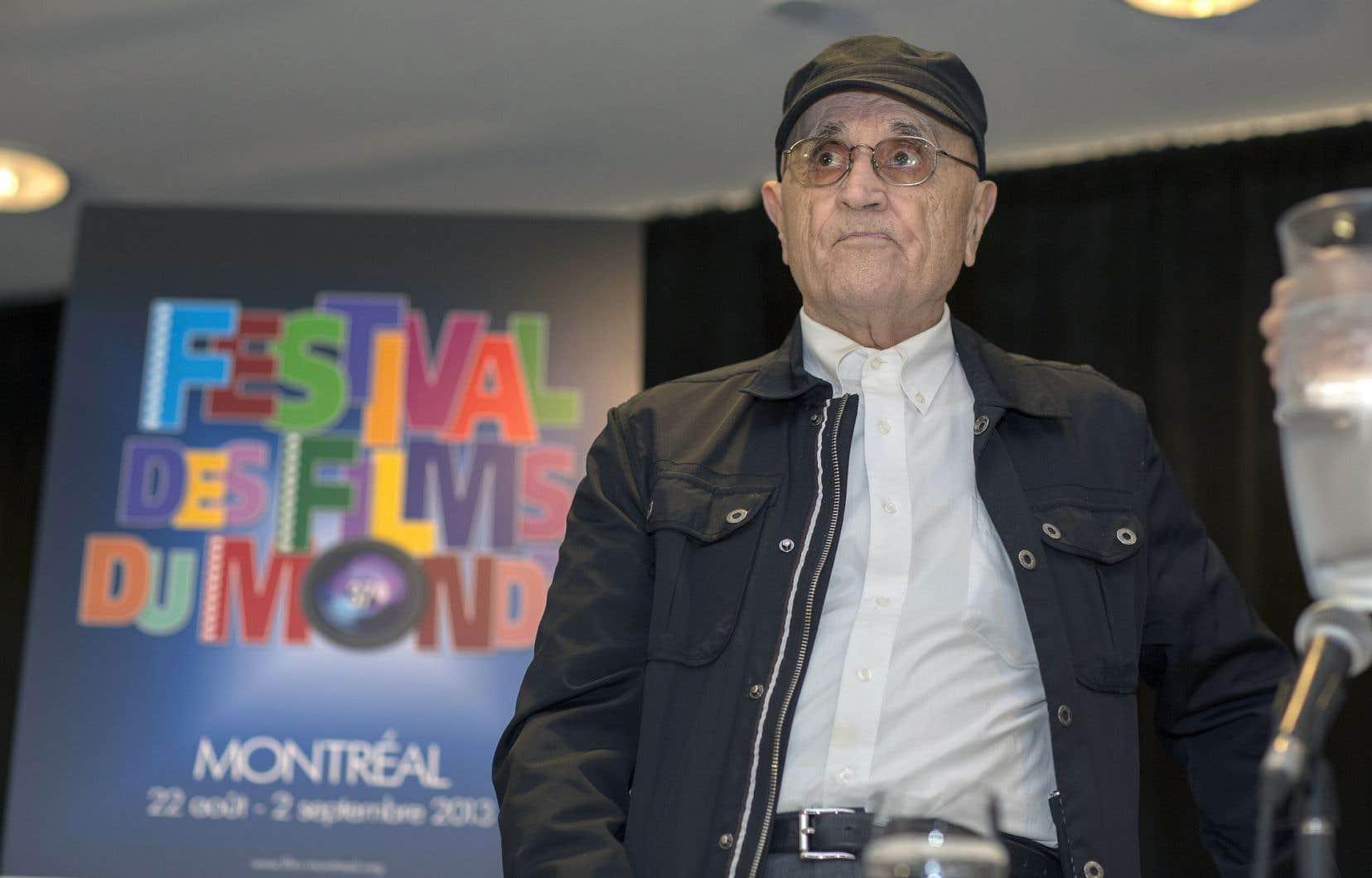 Le président du Festival des films du monde, Serge Losique