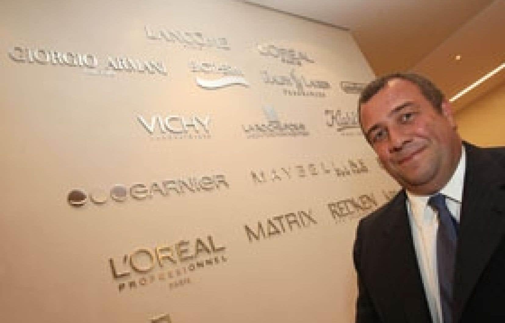 D'une certaine façon, explique Javier San Juan, p.-d.g. de L'Oréal Canada, L'Oréal est un «holding de marques».