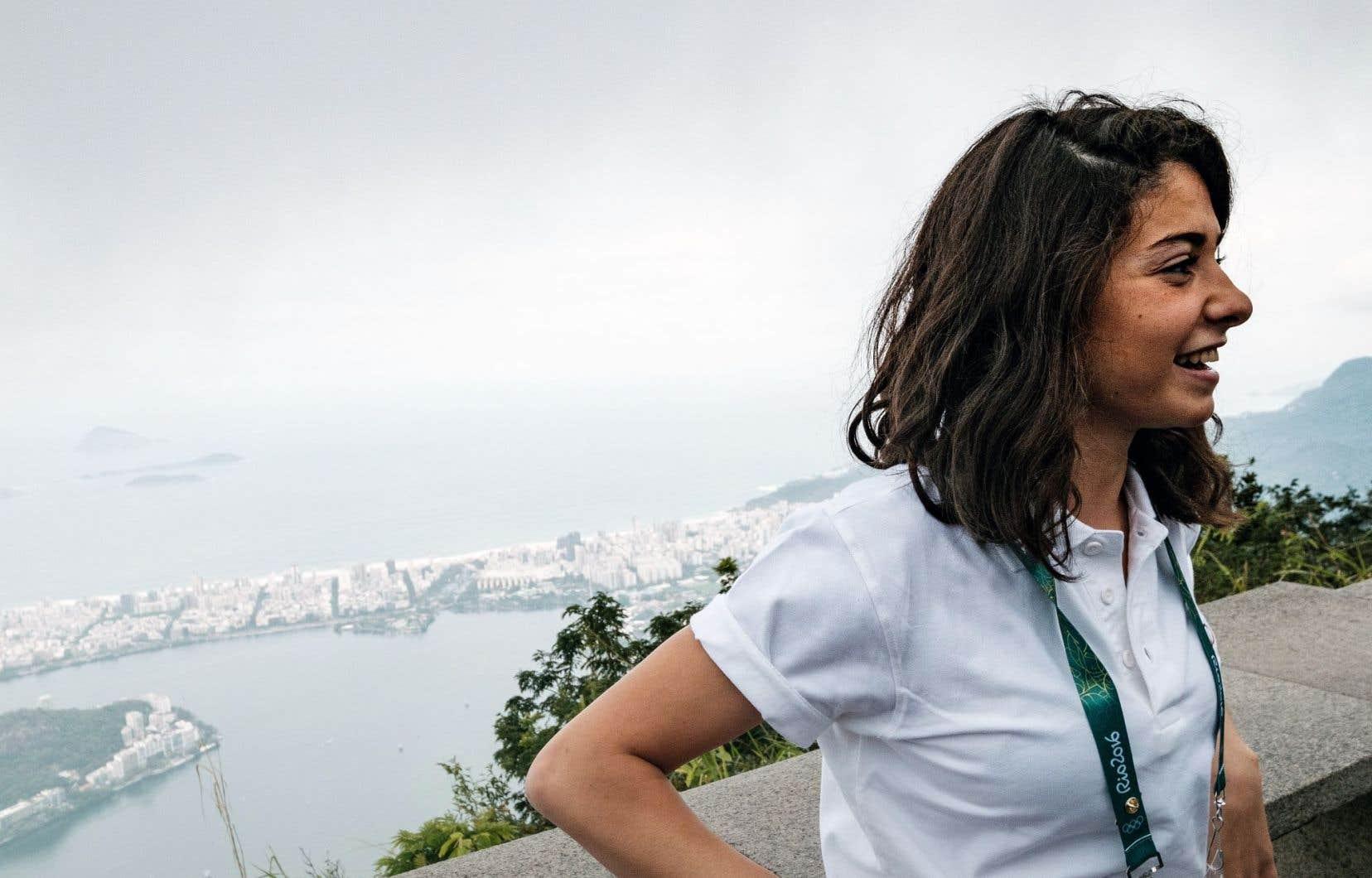 La nageuse syrienne Yusra Mardini