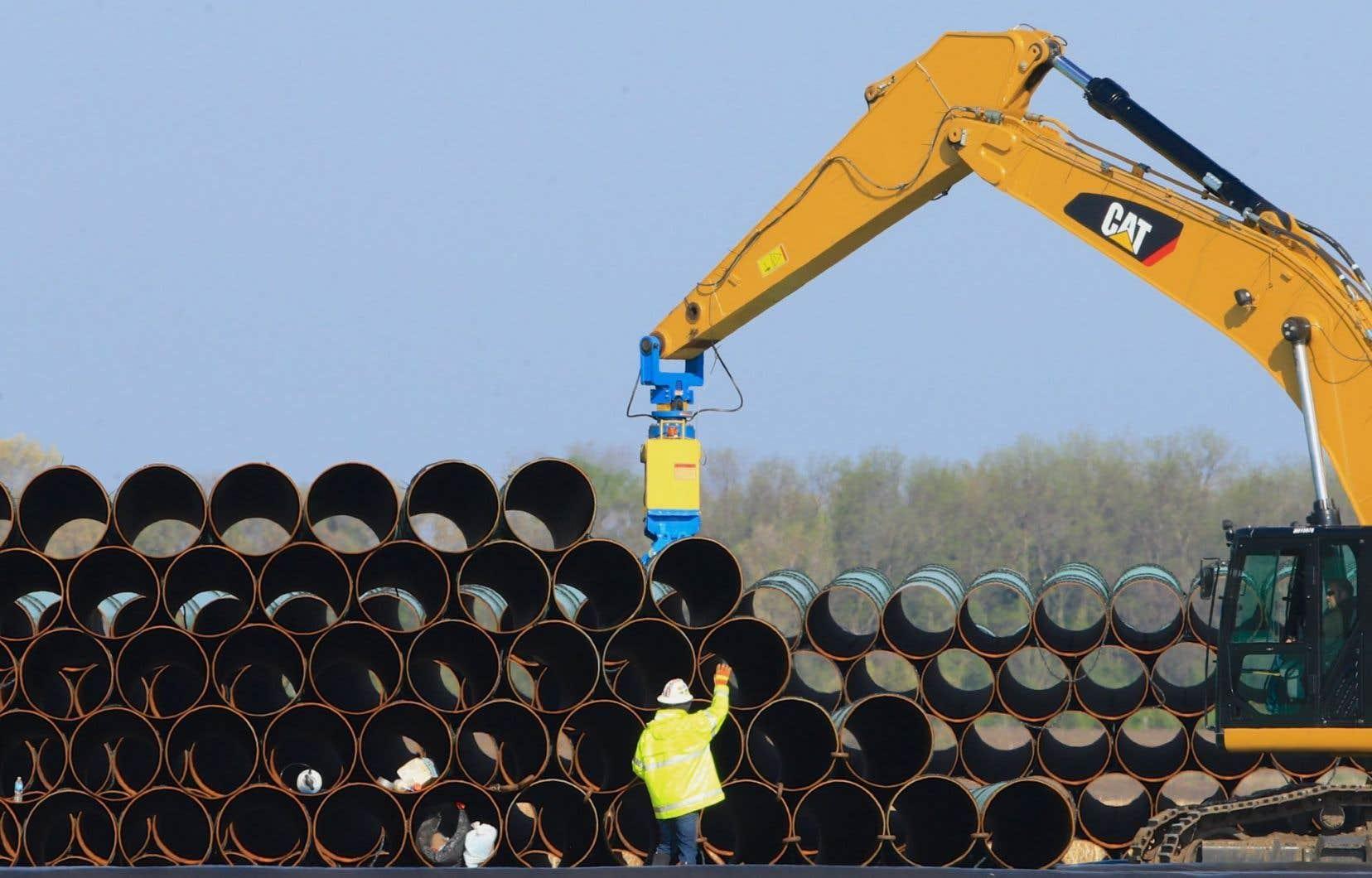 Les audiences sur le pipeline Énergie Est ont débuté cette semaine au Nouveau-Brunswick et doivent se poursuivre tout le long du tracé du pipeline Énergie Est jusqu'en décembre.