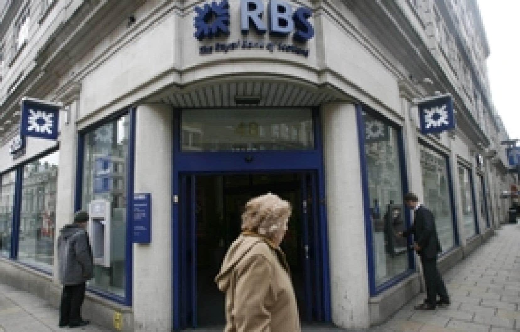 La Royal Bank of Scotland (RBS) a annoncé lundi qu'elle s'attendait à une perte annuelle monumentale en raison surtout de dépréciations liées à l'acquisition ruineuse d'ABN Amro.