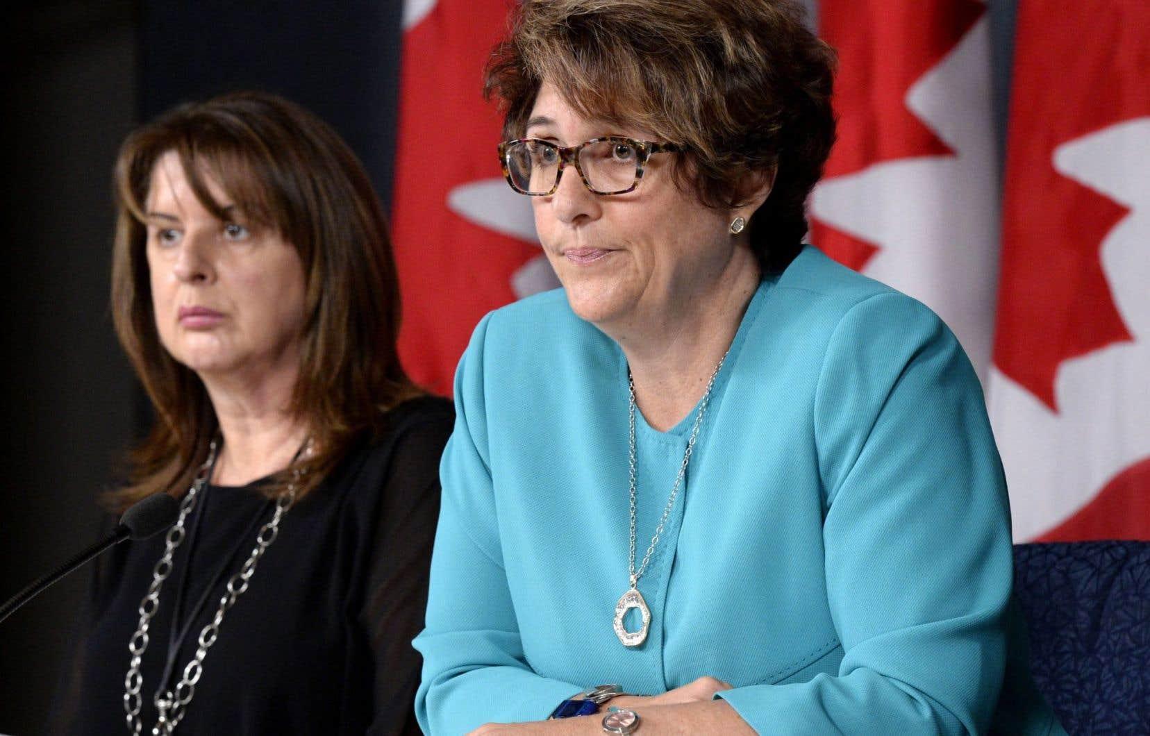 La sous-ministre des Services publics et de l'Approvisionnement, Marie Lemay