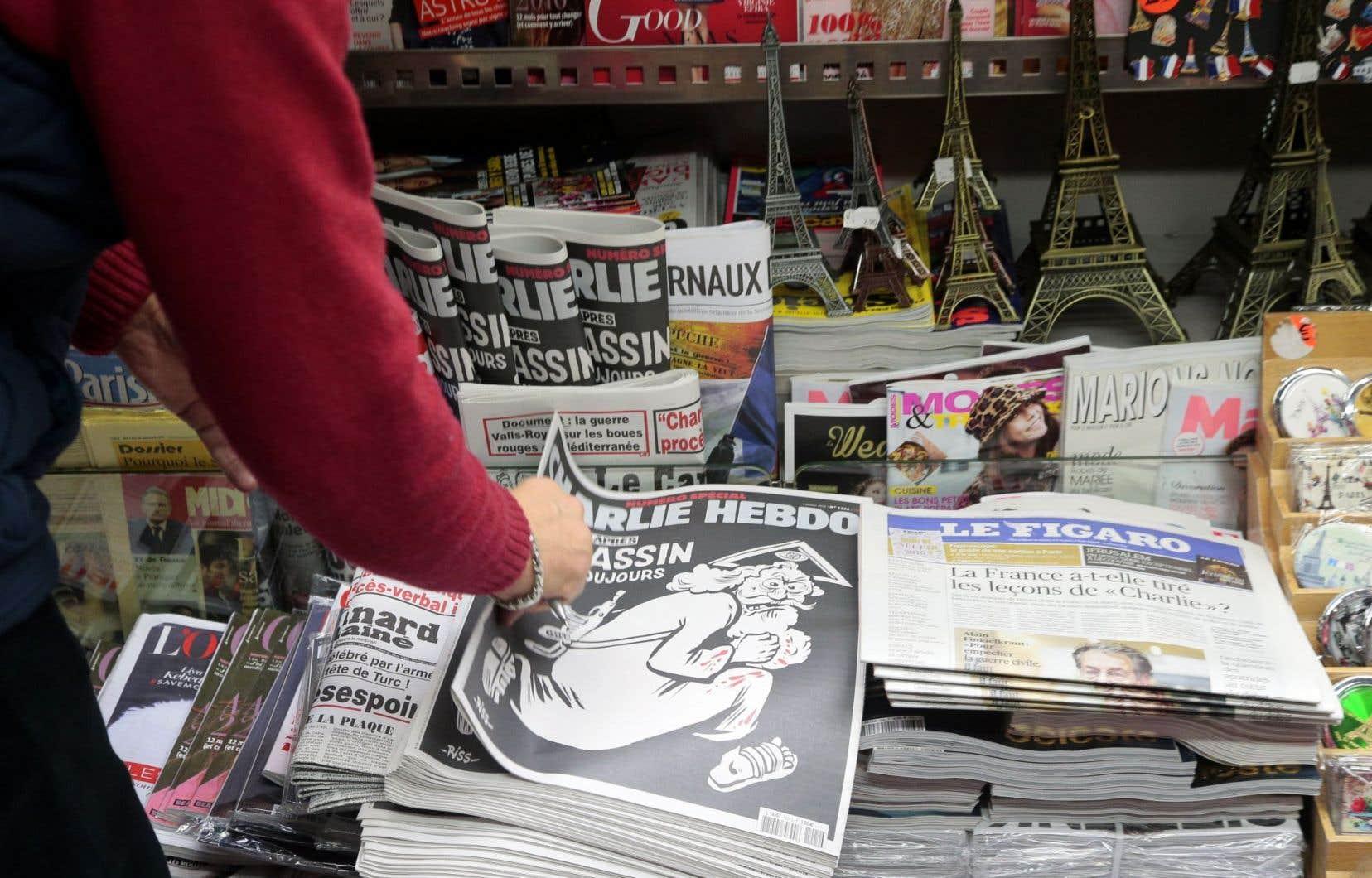 Charlie Hebdo a déposé plainte jeudi pour « menaces » sur sa page Facebook.