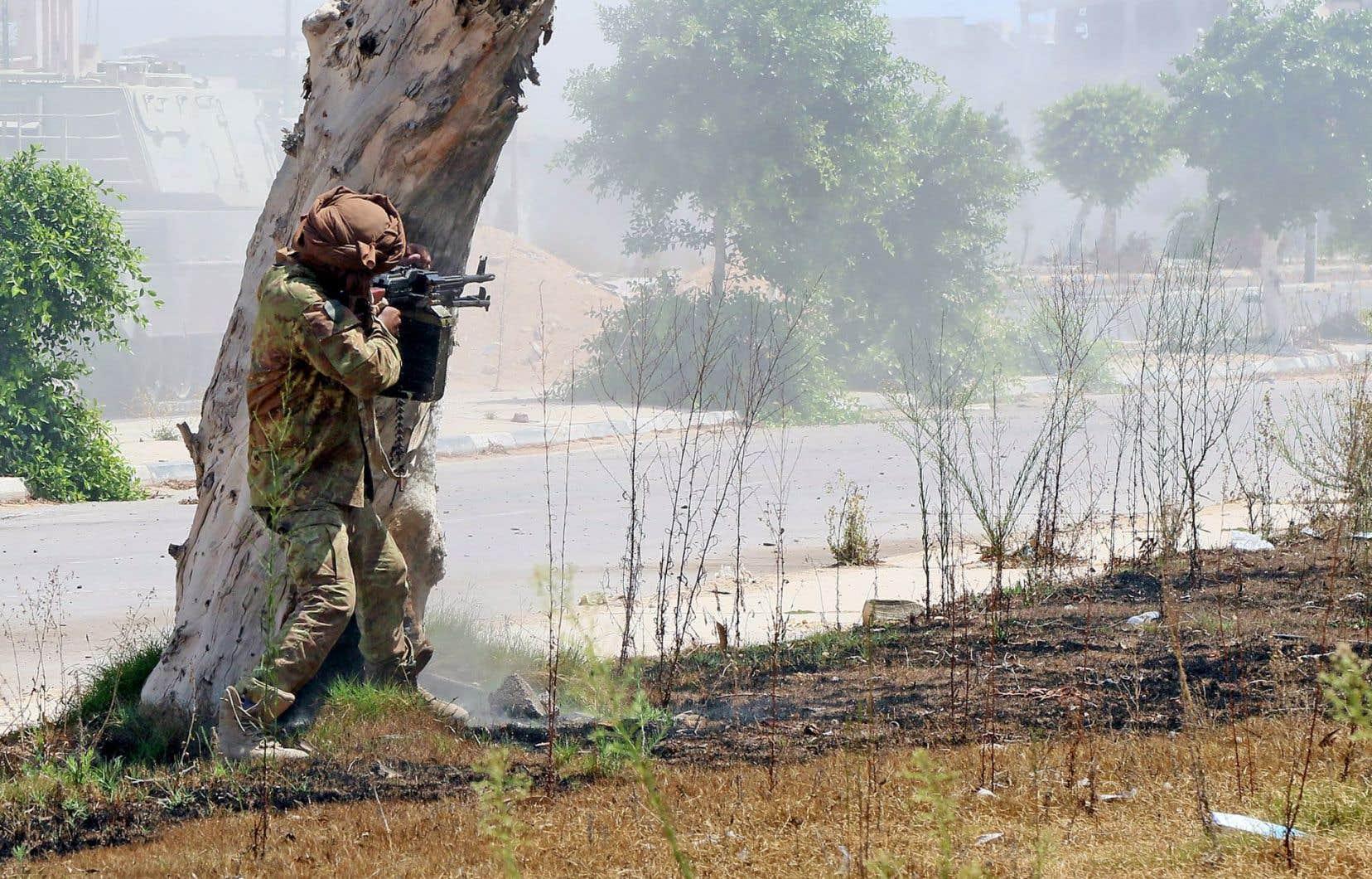 Dimanche, les combattants du GNA ont repris le contrôle de plusieurs zones de Syrte.