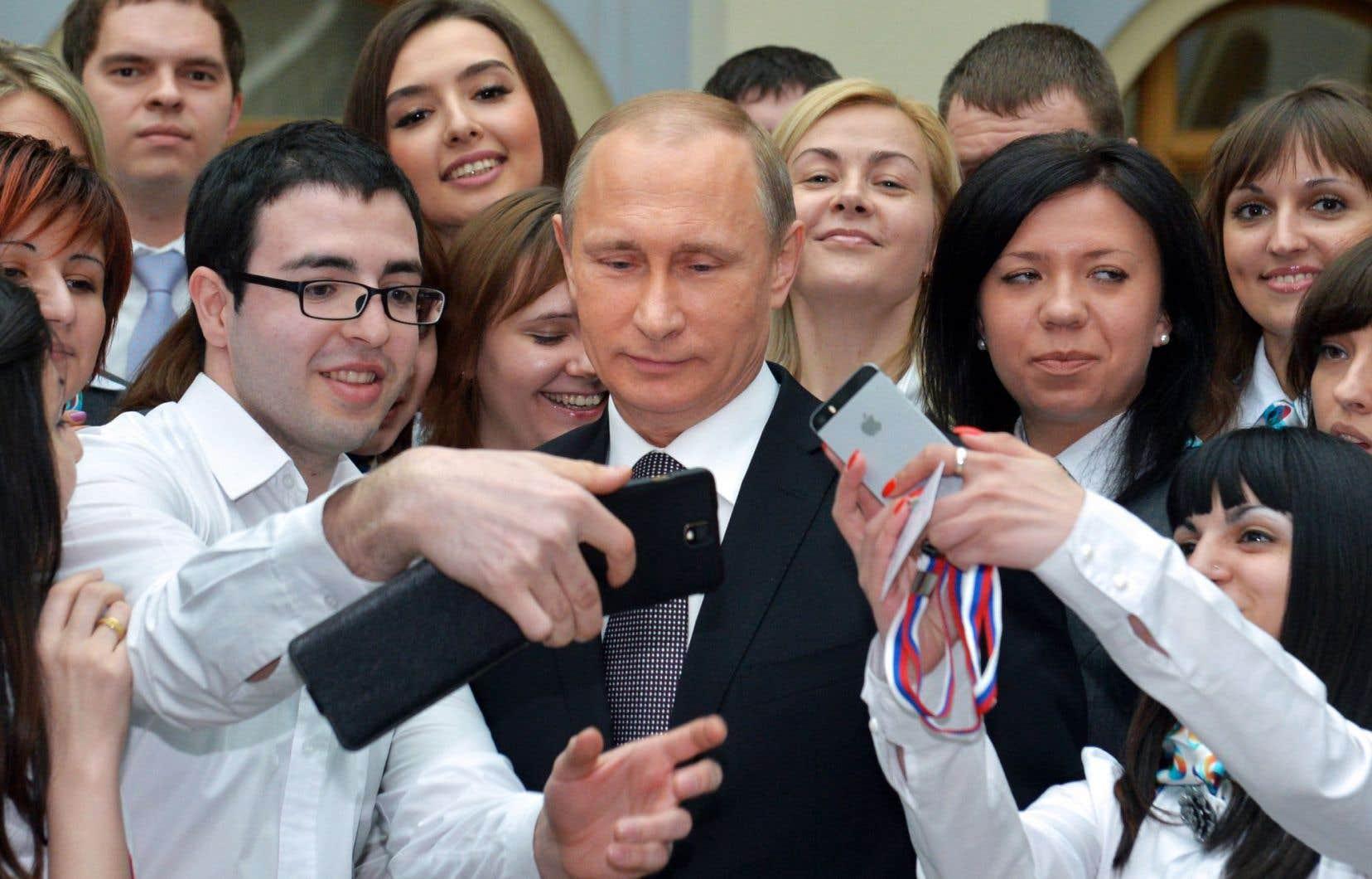 La cote de sympathie de Vladimir Poutine est retombée à 29%, son niveau en 2000.