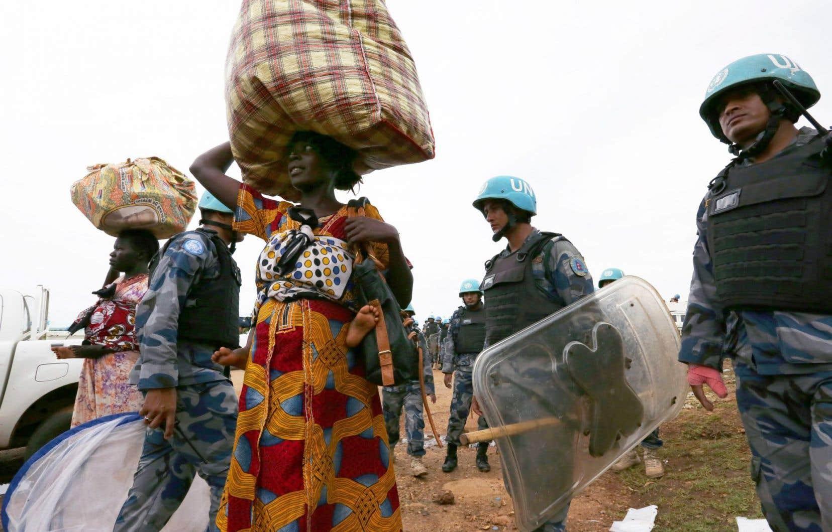 Vendredi, l'ONU a autorisé le déploiement de 4000 Casques bleus supplémentaires pour «pacifier» Juba.