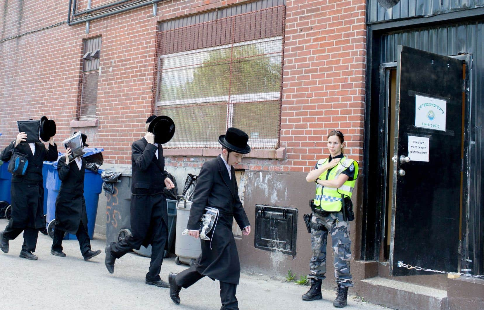 Une école juive de l'avenue du Parc a attiré l'attention du DPJ en juin.
