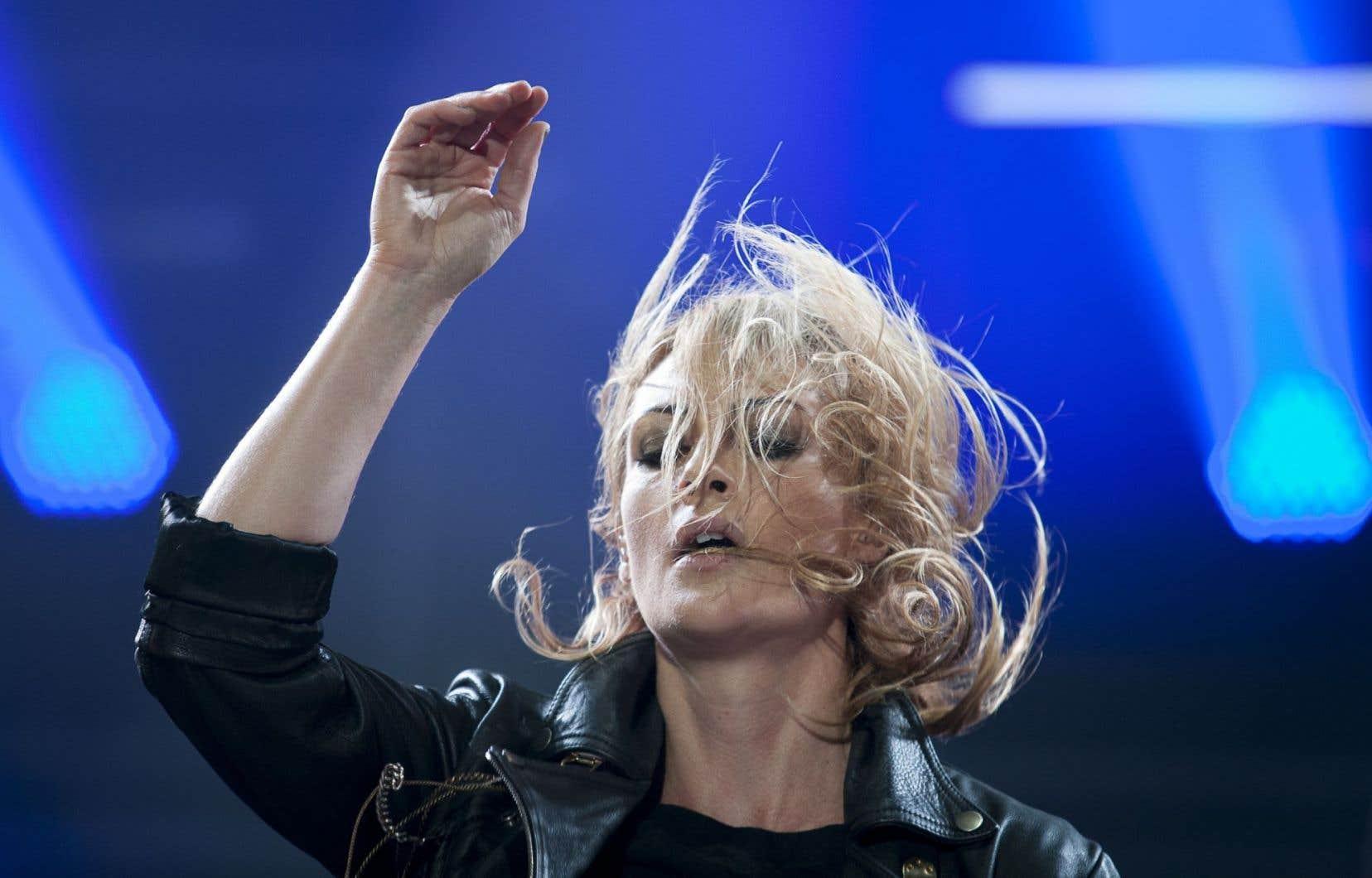 Le groupe canadien Metric sera l'une des têtes d'affiche du concert, en septembre.