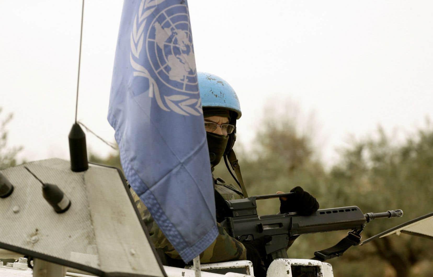 «L'examen de 11 missions de paix en Afrique de1990 à2009 révèle aussi que la réussite tient moins à l'utilisation de la force qu'à la capacité et à la possibilité de l'utiliser», selon la professeure Sarah-Myriam Martin-Brûlé.