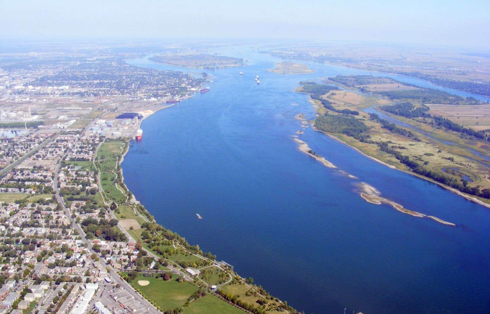 Les entreprises détiennent ainsi près de 16 000 km2 de permis d'exploration entre Montréal et Québec, de part et d'autre du fleuve Saint-Laurent.