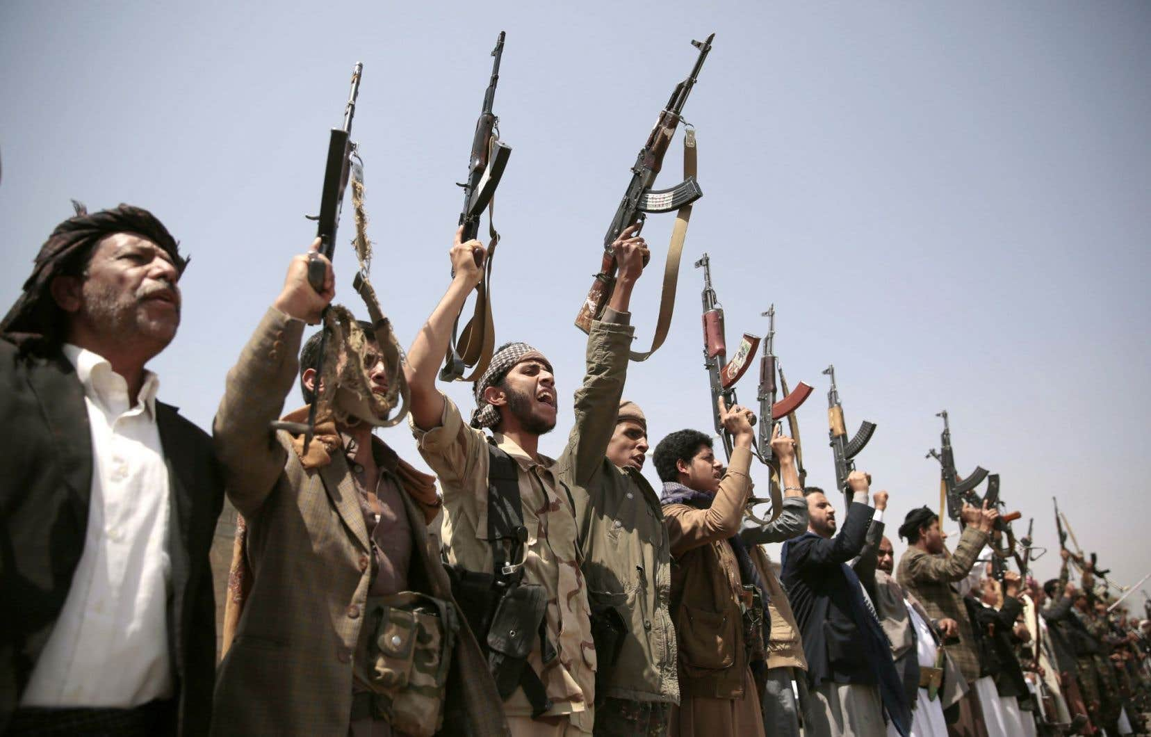 La coalition sous ordres saoudiens combat entre autres les rebelles houthis (photo), surtout présents dans le nord du Yémen.