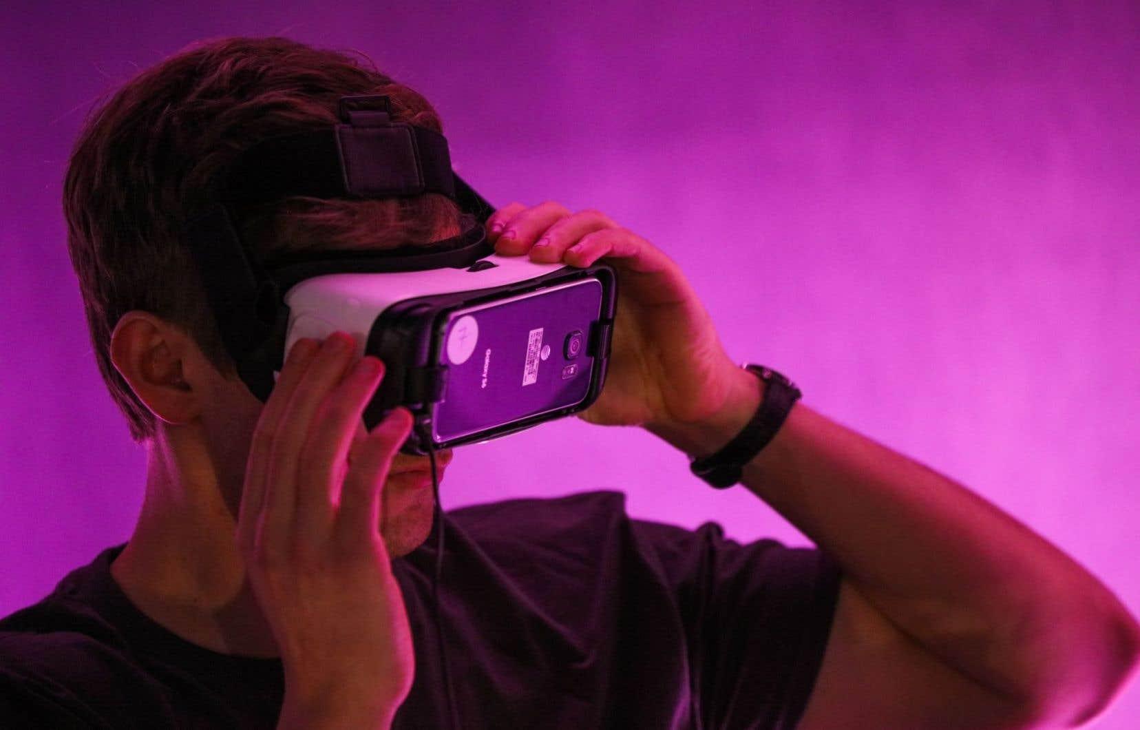 Le public aura accès gratuitement à une sélection d'oeuvres de réalité virtuelle et de nouvelles écritures, en primeurs montréalaises.