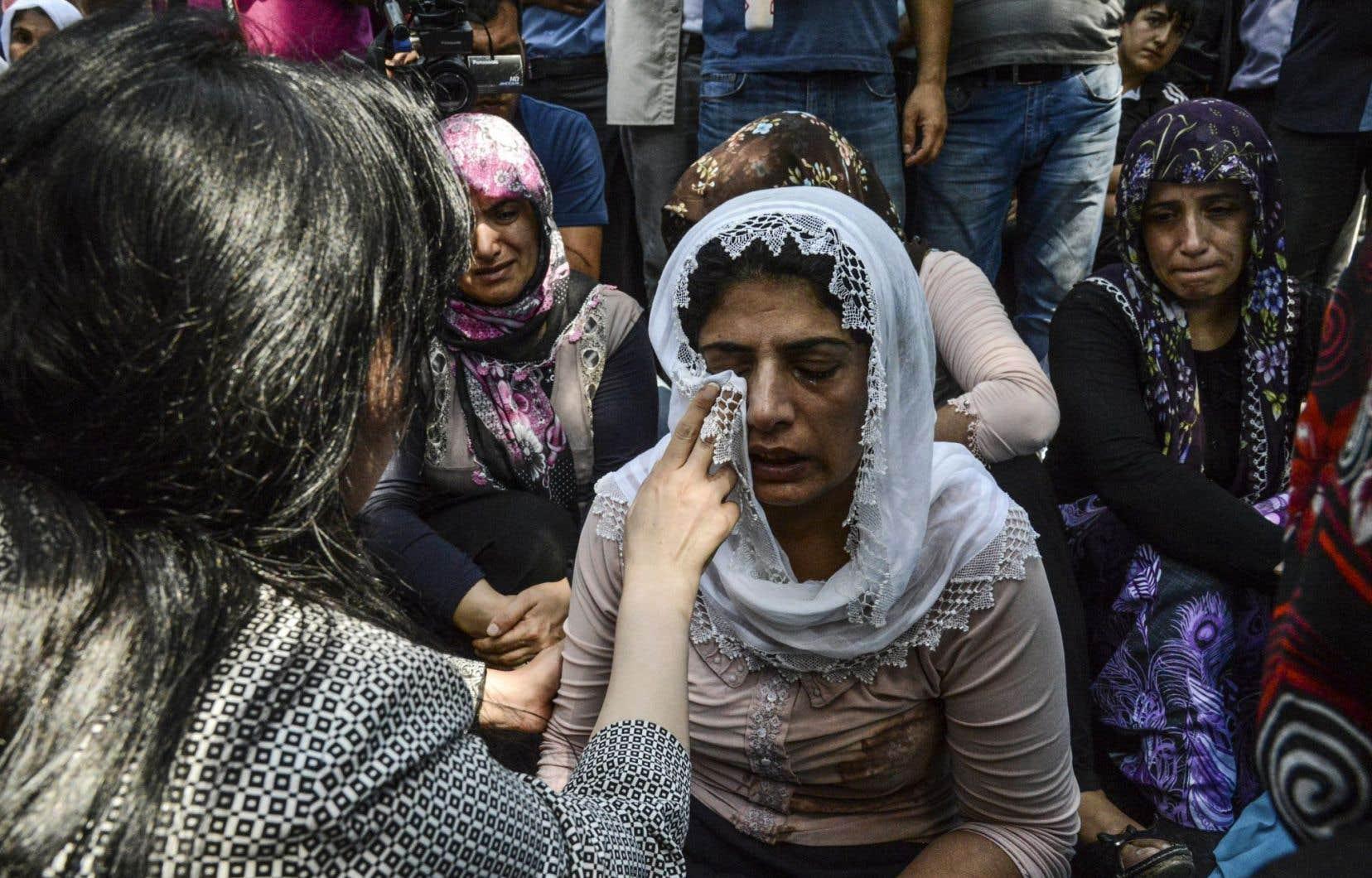 Le bilan de l'attentat, le plus meurtrier en Turquie cette année, a augmenté de 51 à 54 morts, a annoncé l'agence de presse Dogan.