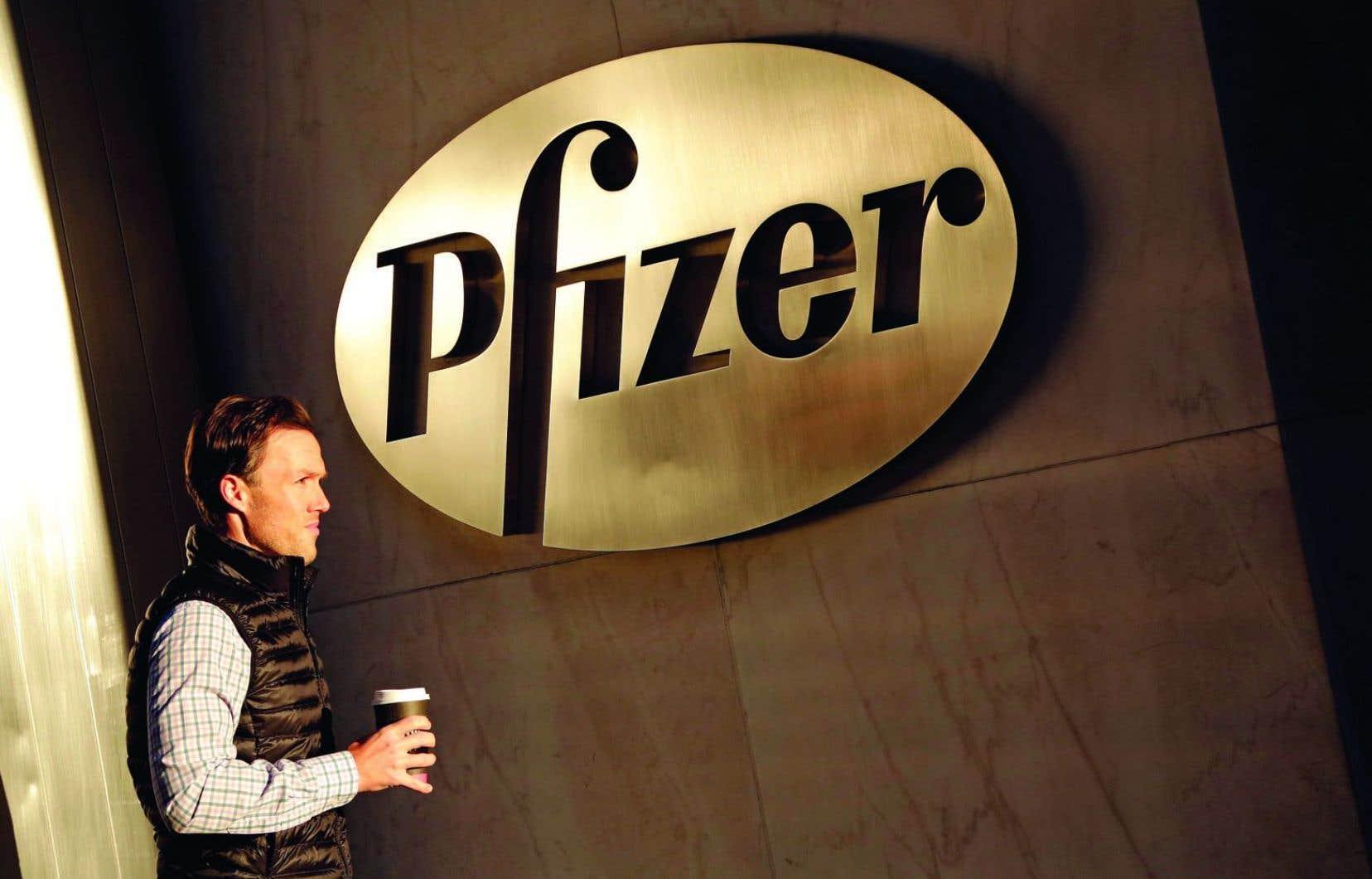 Le fabricant de médicaments Pfizer établi à New York a indiqué lundi qu'il versera 81,50$US par action de Medivation.