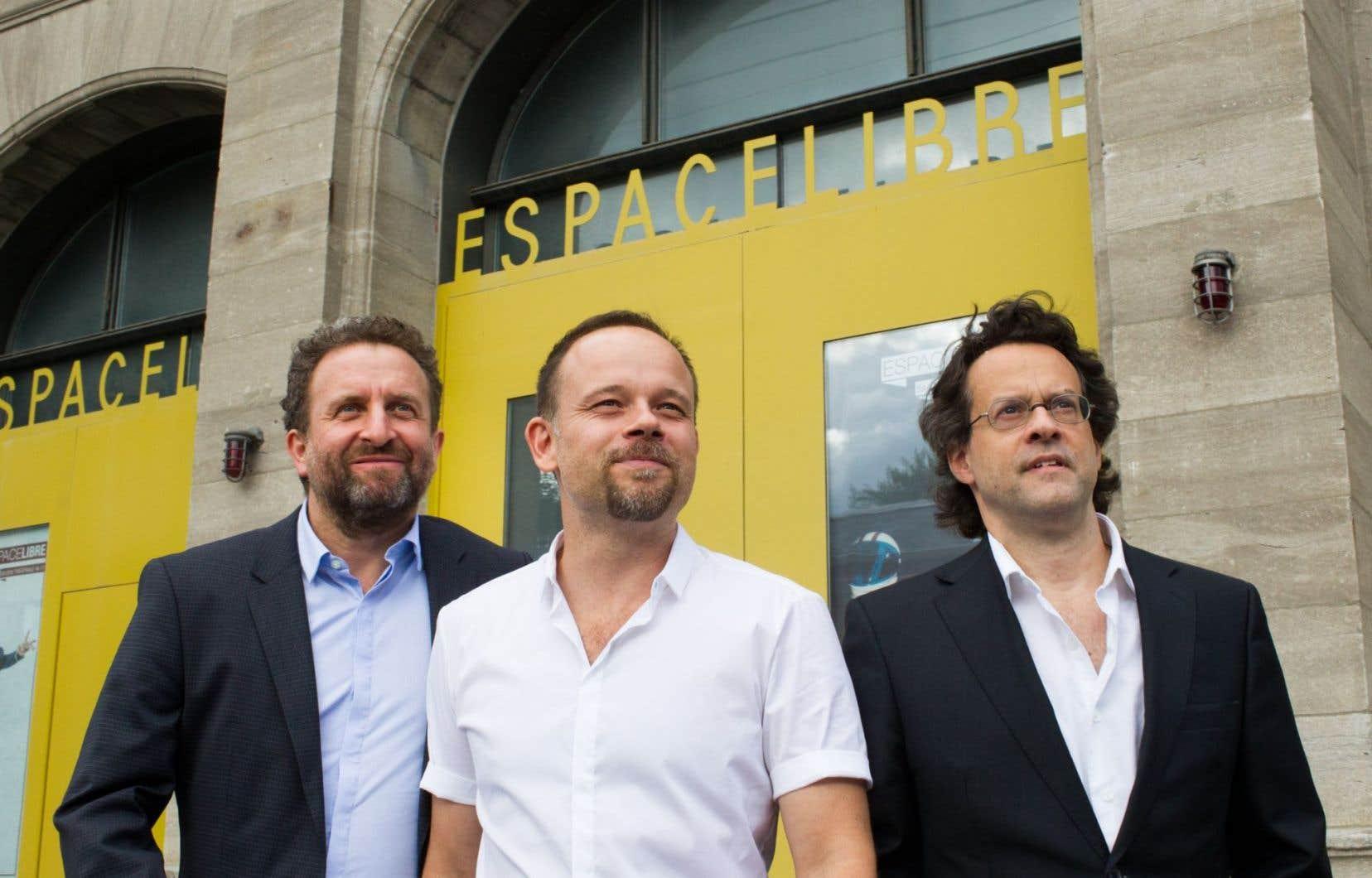 Daniel Brière et Geoffrey Gaquère signent la mise en scène de l'œuvre d'Alexis Martin sur Camillien Houde.