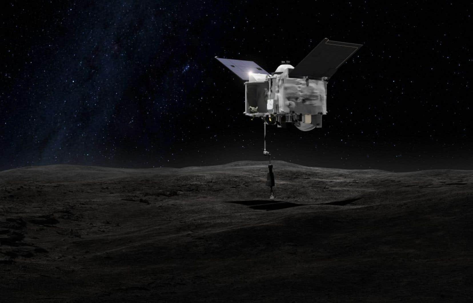 L'altimètre laser canadien OSIRIS-REx étudiera Bennu, un astéroïde susceptible d'entrer en collision avec la Terre vers la fin du XXIIe siècle.<br />