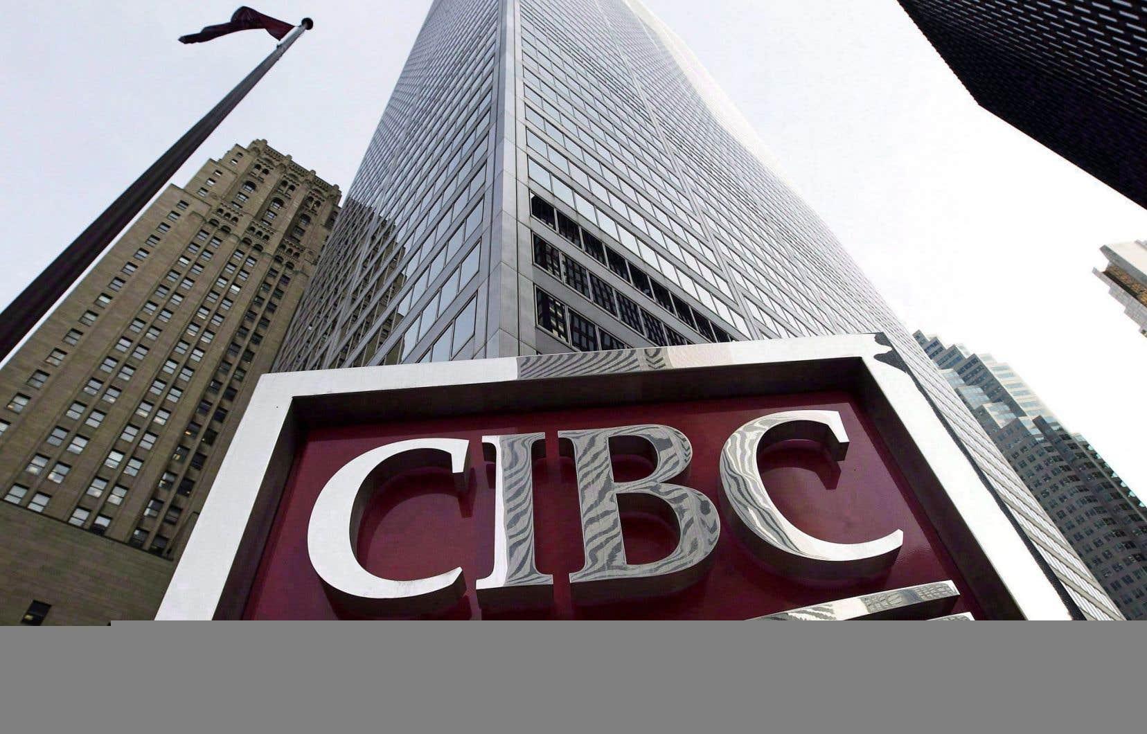 La Banque CIBC a dévoilé jeudi un bénéfice en hausse de près de 50%, à 1,44milliard, par rapport à il y a un an.
