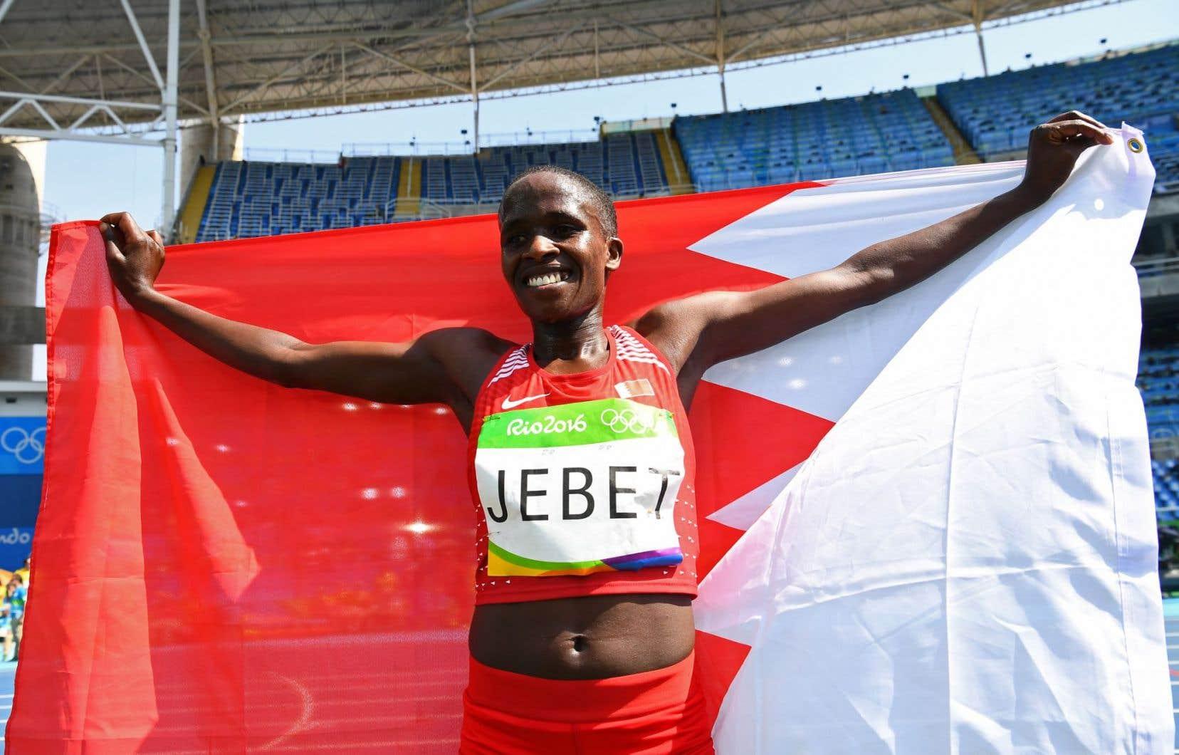 Avec Ruth Jebet, une Kényane d'origine âgée de 19ans, l'archipel pétrolier a remporté l'or du 3000 mètres steeple féminin aux Jeux de Rio.