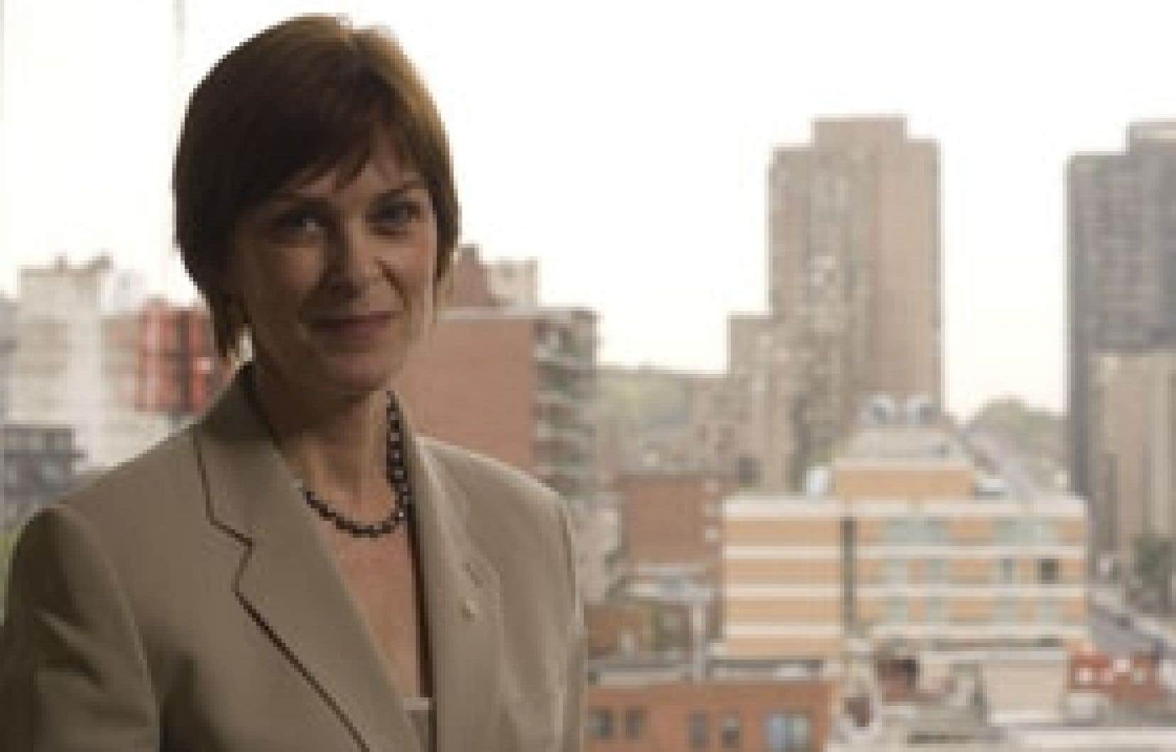 Heather Munroe-Blum, principale et vice-chancelière de l'université McGill, préside la Conférence des recteurs et des prin-cipaux des universités du Québec.