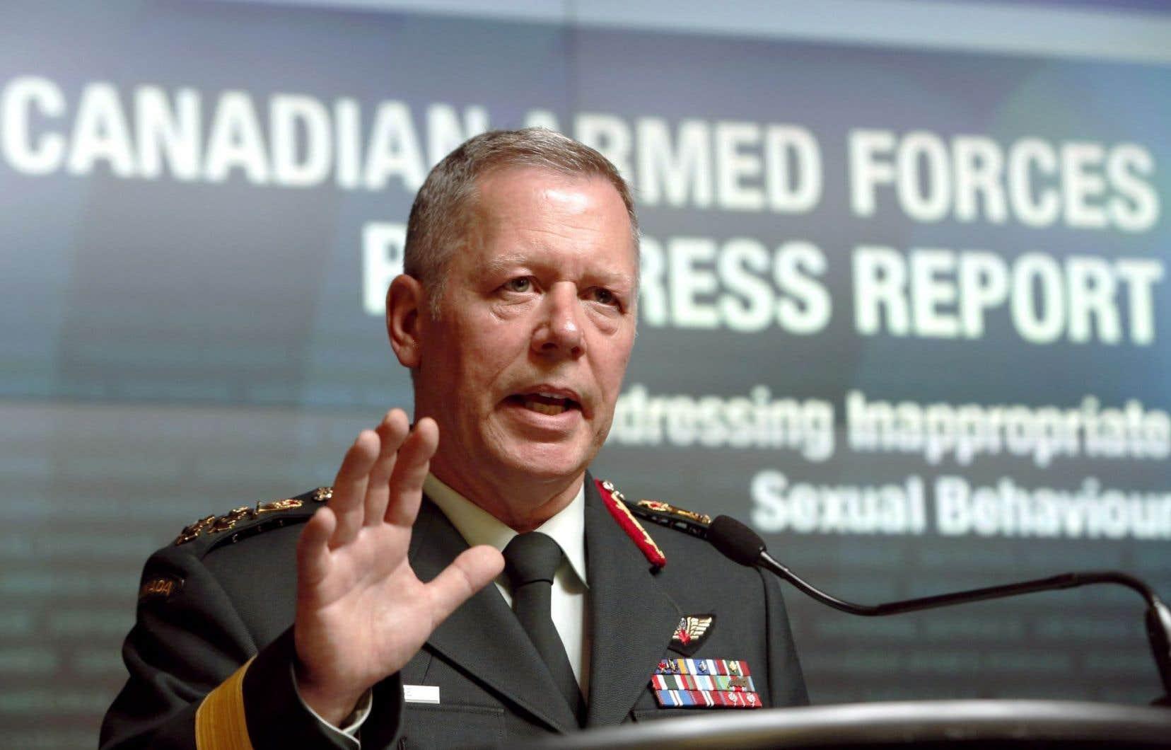 Le chef d'état-major de la défense, Jonathan Vance, s'est réjoui mardi des améliorations enregistrées, tout en admettant que beaucoup de travail restait à accomplir.