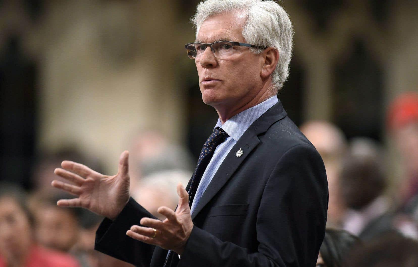 Le ministre Jim Carr a rappelé, jeudi, que son gouvernement est en train de moderniser l'ONE afin de «rétablir la confiance du public envers l'organisme».