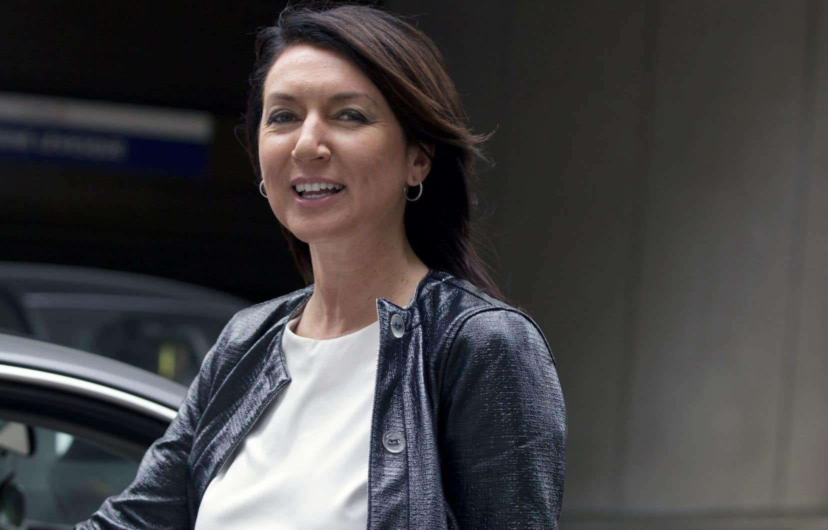 L'ex-ministre Nathalie Normandeauest la seule membre du PLQ parmi les sept personnes arrêtées en mars dernier par l'UPAC.